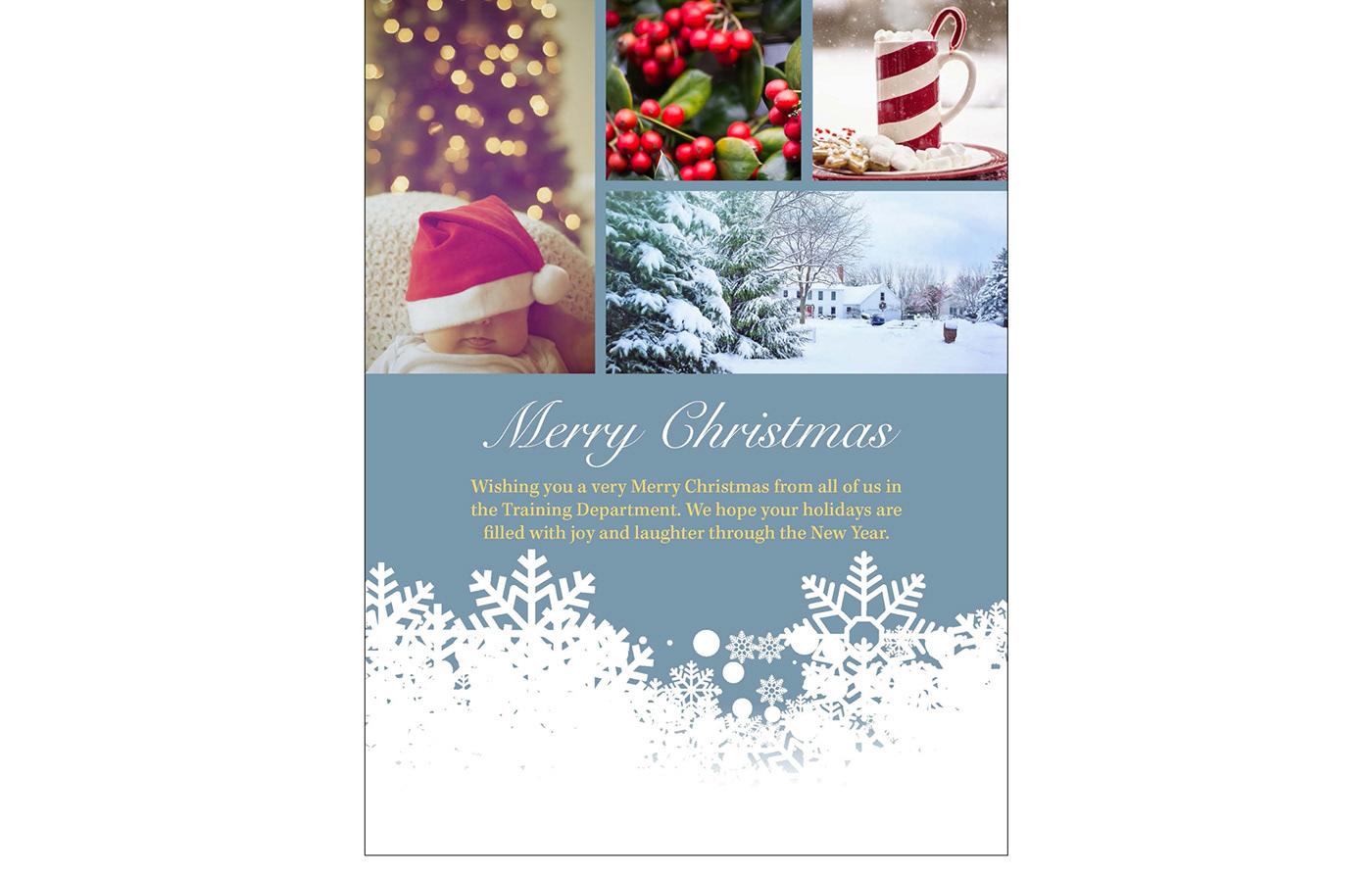 有獨特感的28款聖誕節賀卡欣賞