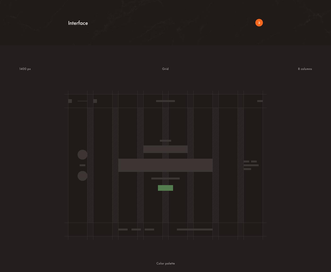 Website Interface Web history Renaissance design