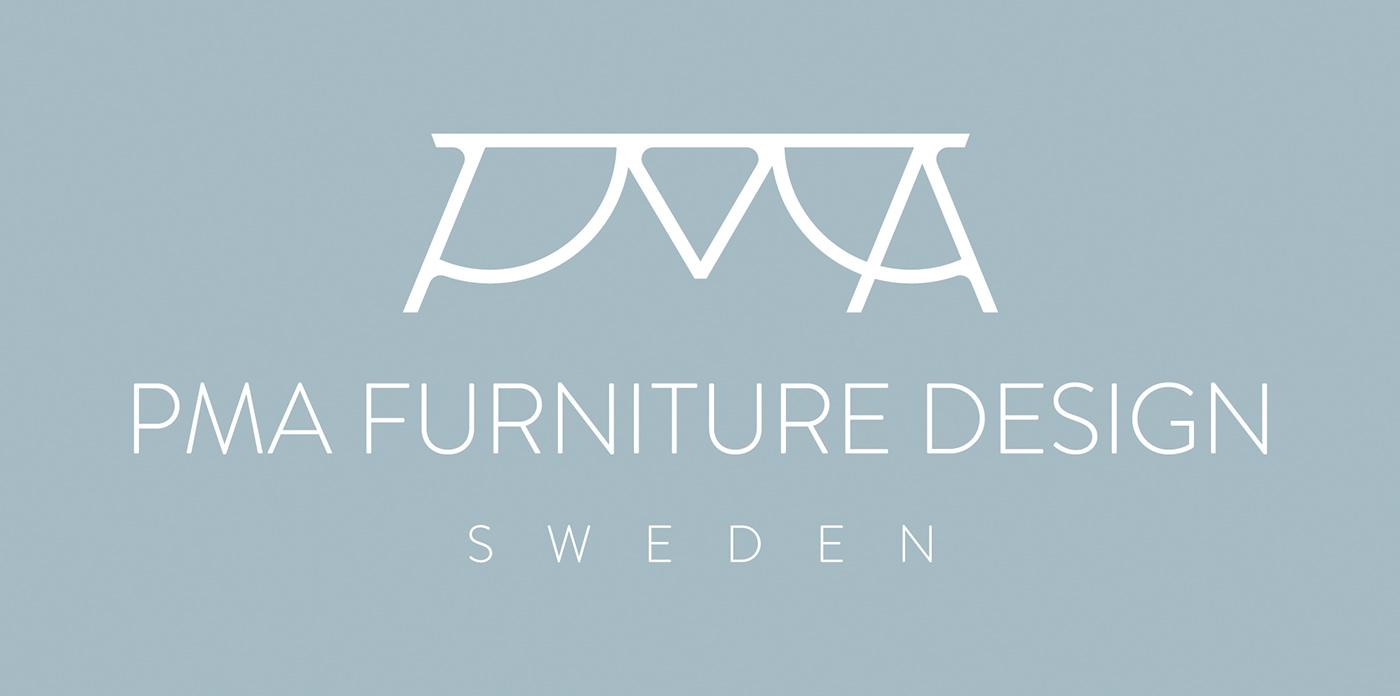 Scandinavian nordic scandinaviandesign scandinavianfurniture furniture minimalistic midcentury furnituredesign swedishfurniture Swedish Sweden swedenfurniture rebranding logodesign