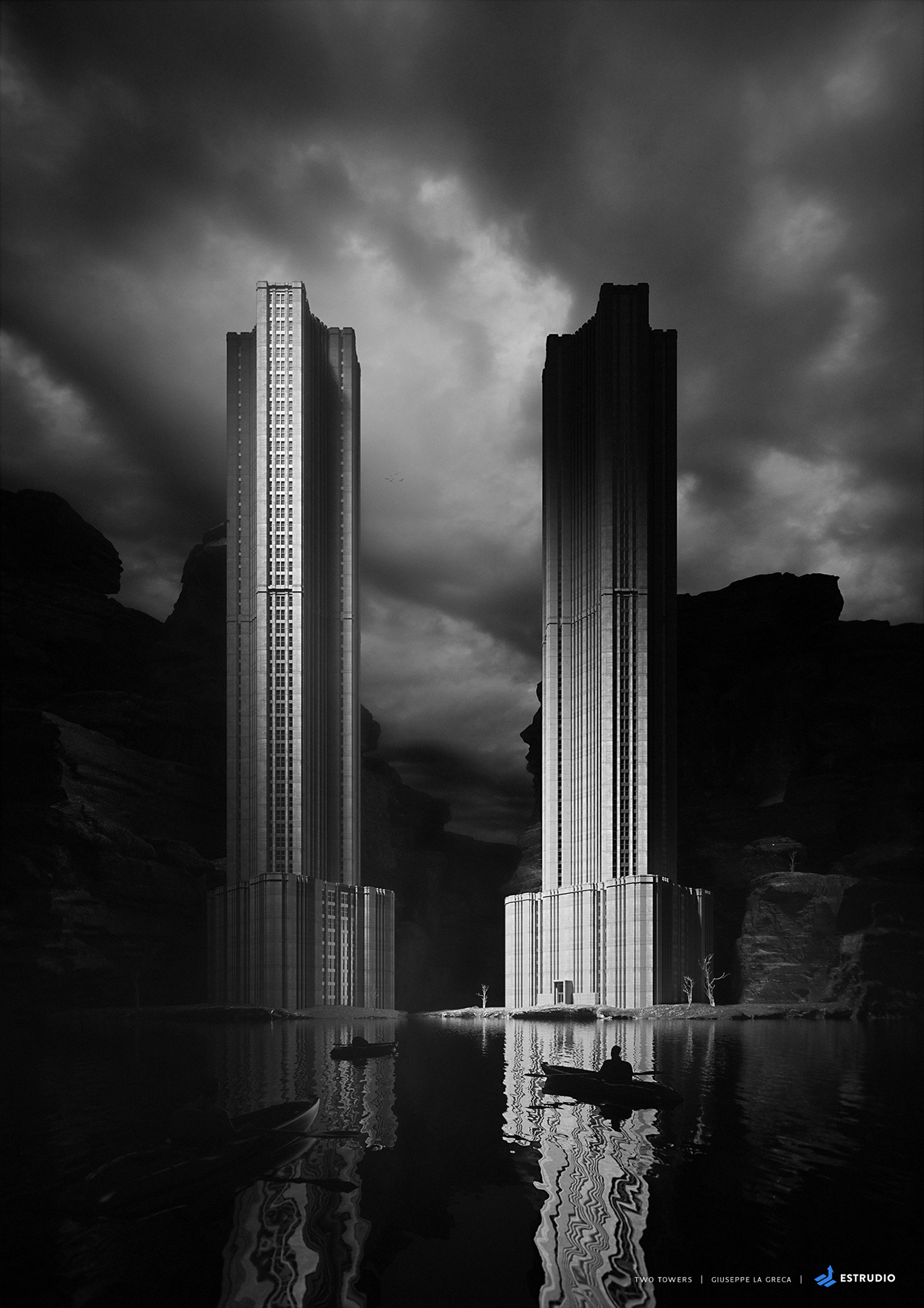 Droquis Ferriss hugh lord ring towers