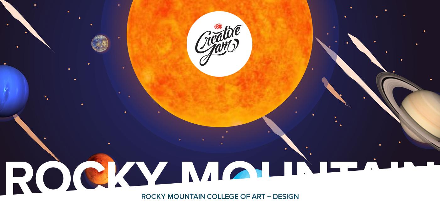 Adobe Creative Cloud Rocky Mountain College denver creative jam student