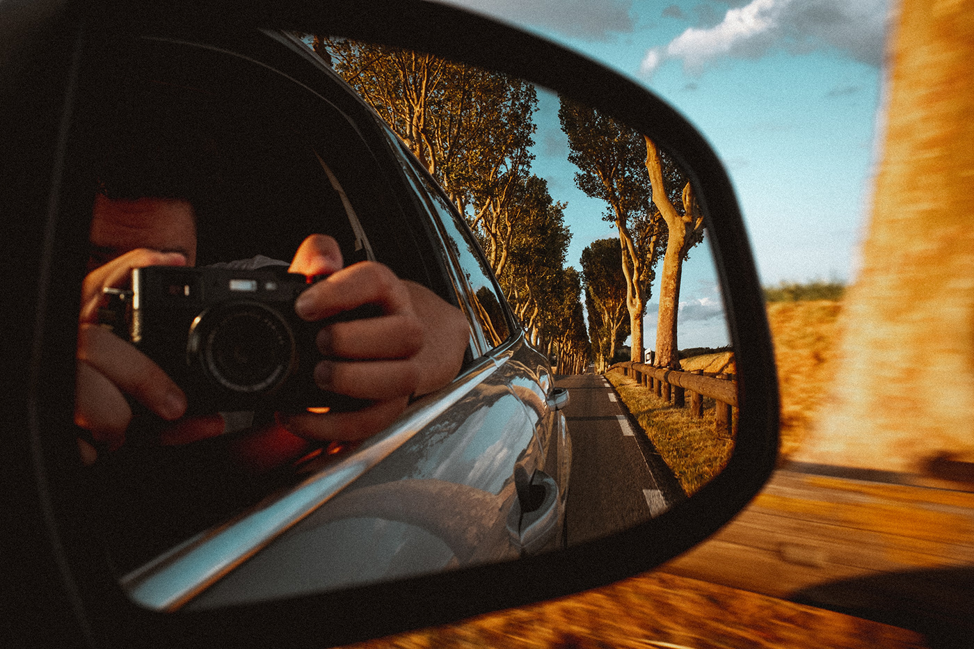 Somewhere Photography  Landscape lightroom theography preset countryside RoadTrip friends sports car