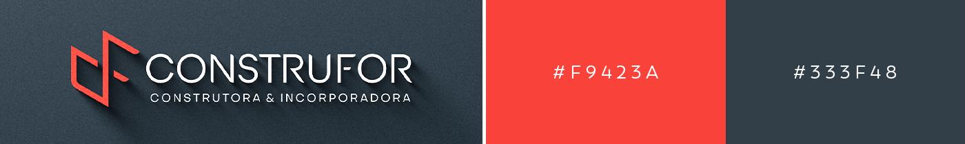 Brand Design construção civil construtora design Design de Logo identidade visual incorporadora logo Logotipo marca