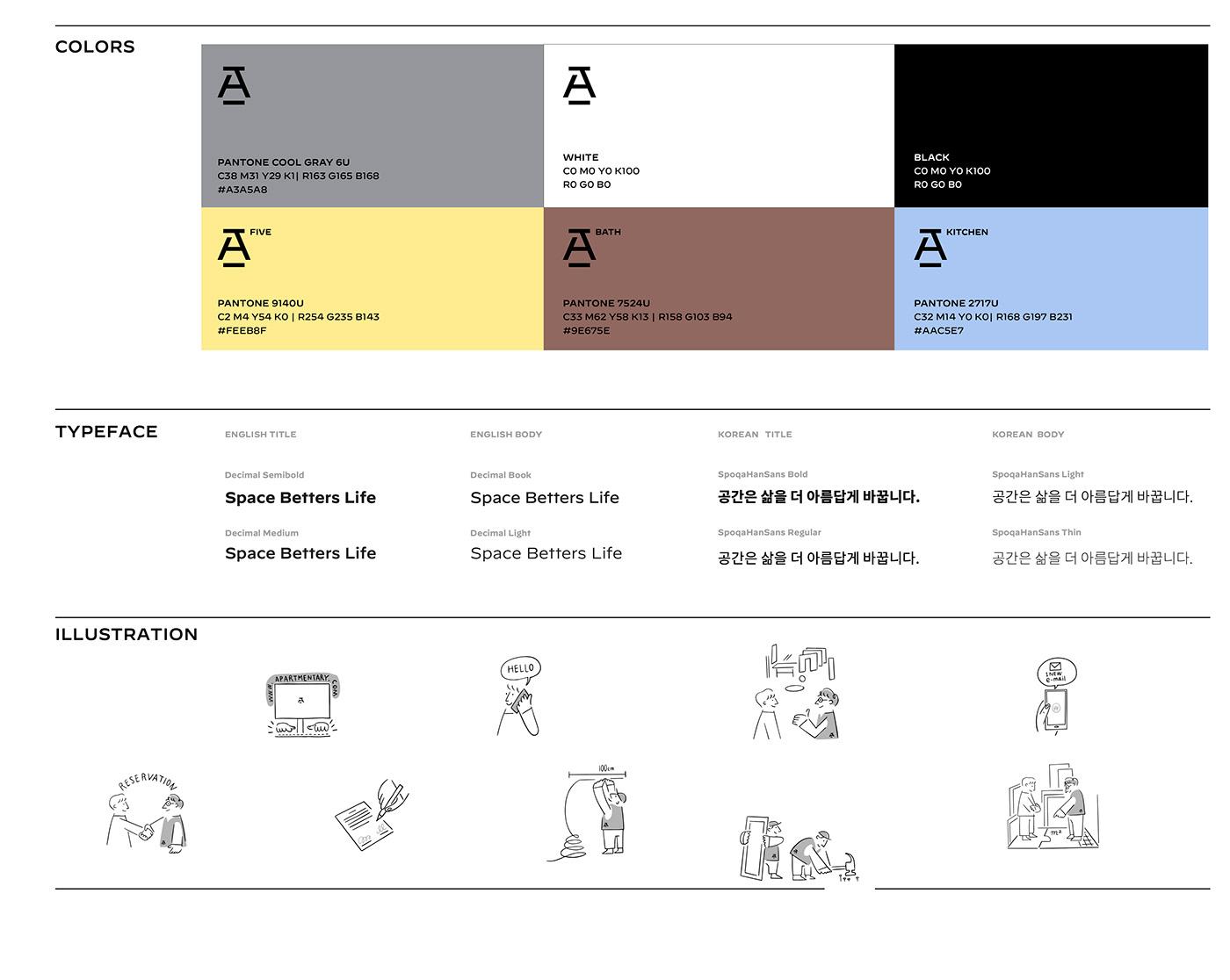 architecture branding  editorial design  graphic ILLUSTRATION  Interior logo wordmark