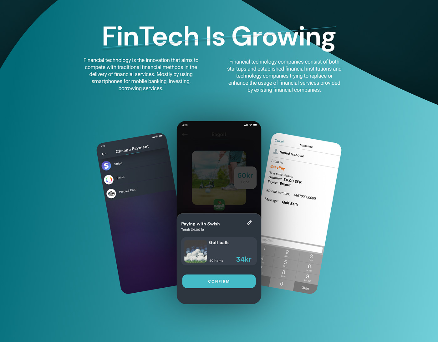 FinTech is growing