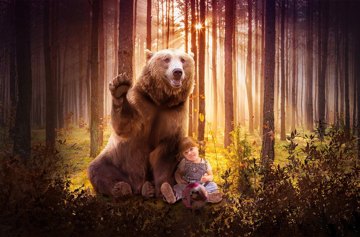 #mashaeorso #bambina #orso #bosco #natura #fantasia #Bear # #child # #wood #nature #fantasy #tribute #omaggio #cartoni # #cartoons #luci #colori #favole # #tales #film