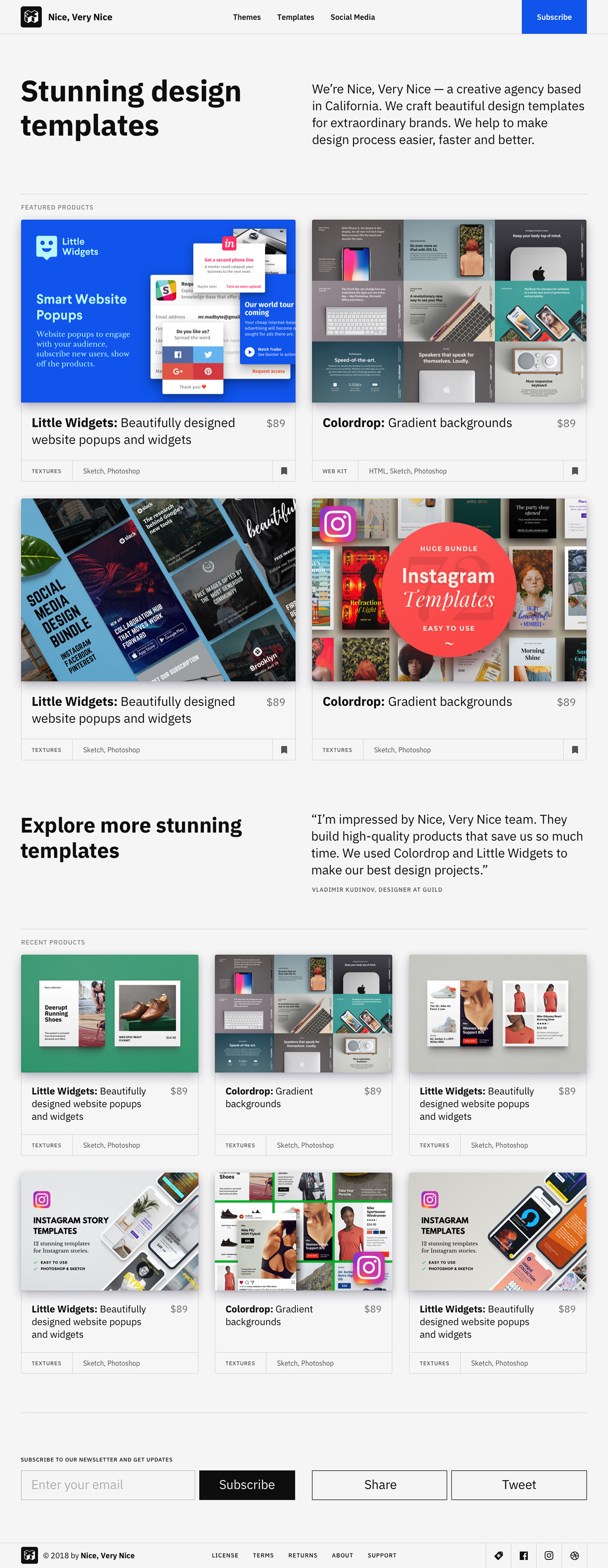 Marketplace creative market digital product sell website template template Website Web Design  HTML css
