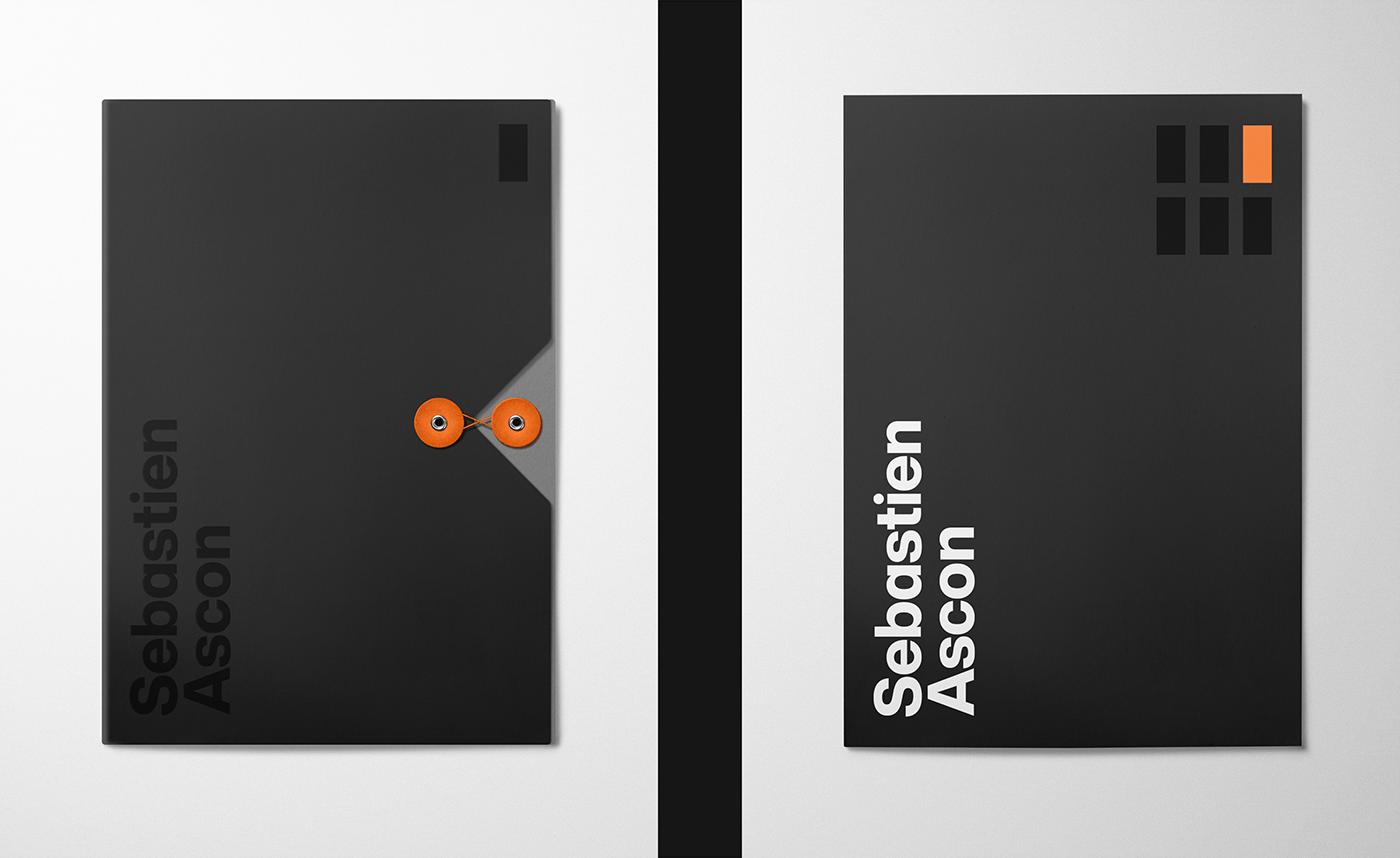 sebastien ascon brand identity folders
