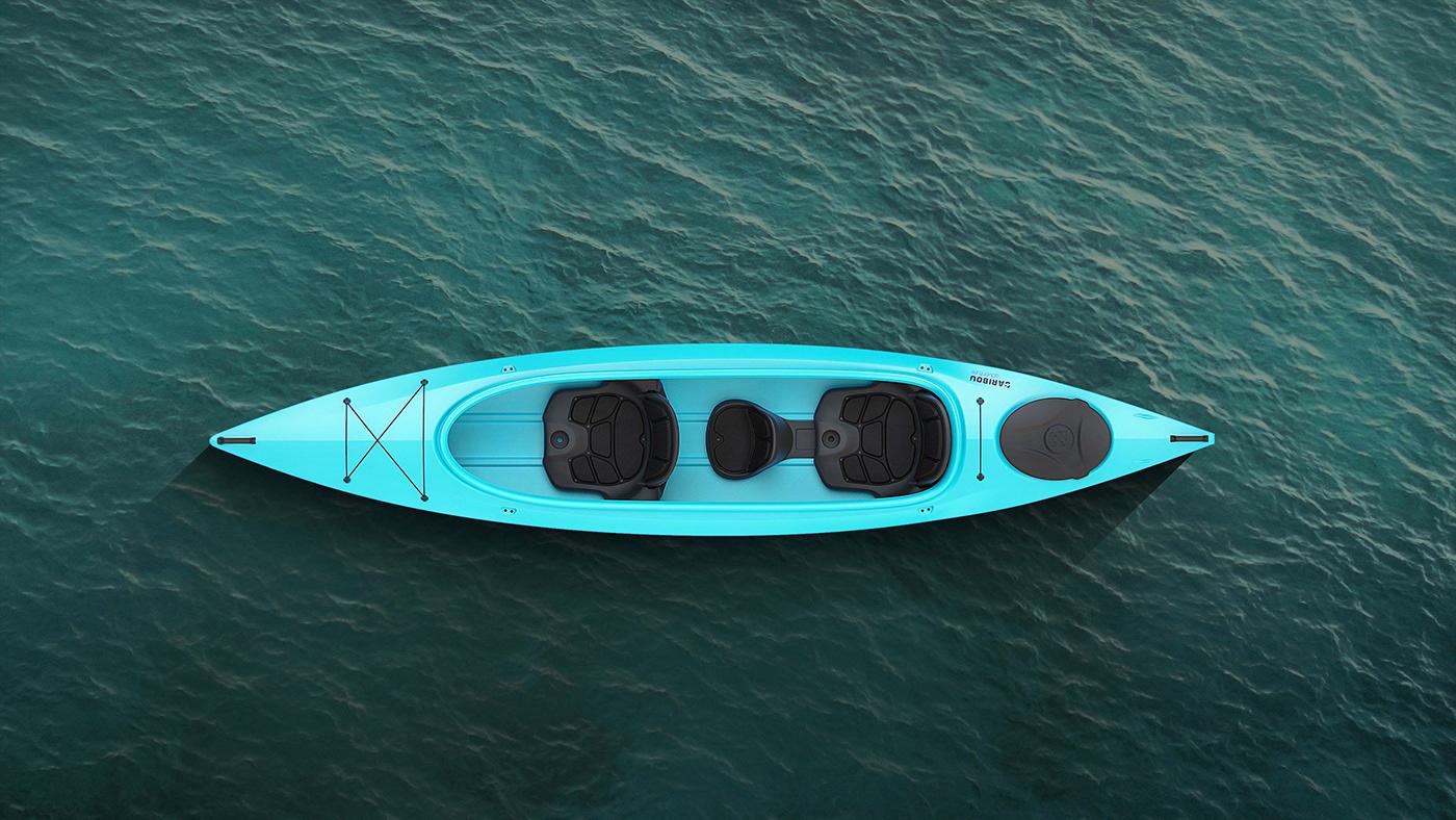 2sympleks boat design kayak touring water