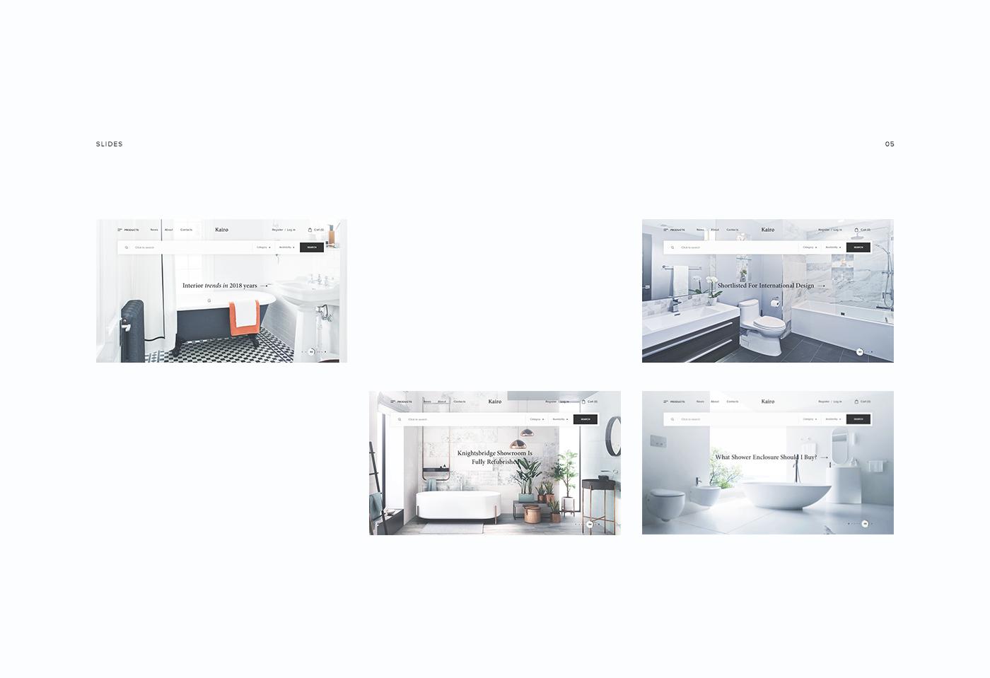 store bathroom baths Adaptive clean shop motion ui ux