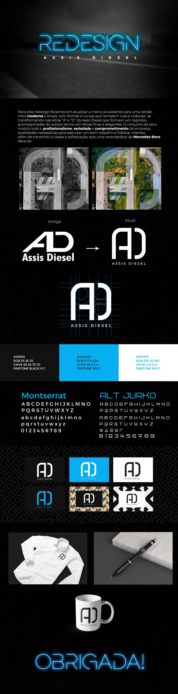 branding  Caminhão criação Direção de arte estrada identidade visual Logotipo mercedes-benz