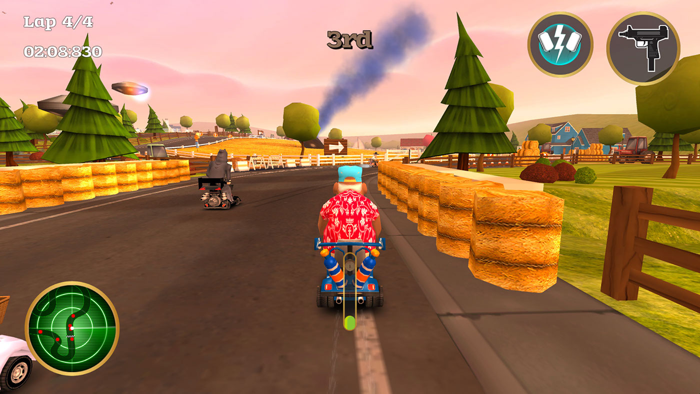 Coffin Dodgers - Kart Racing Game for Steam, PS4 & XBOX on