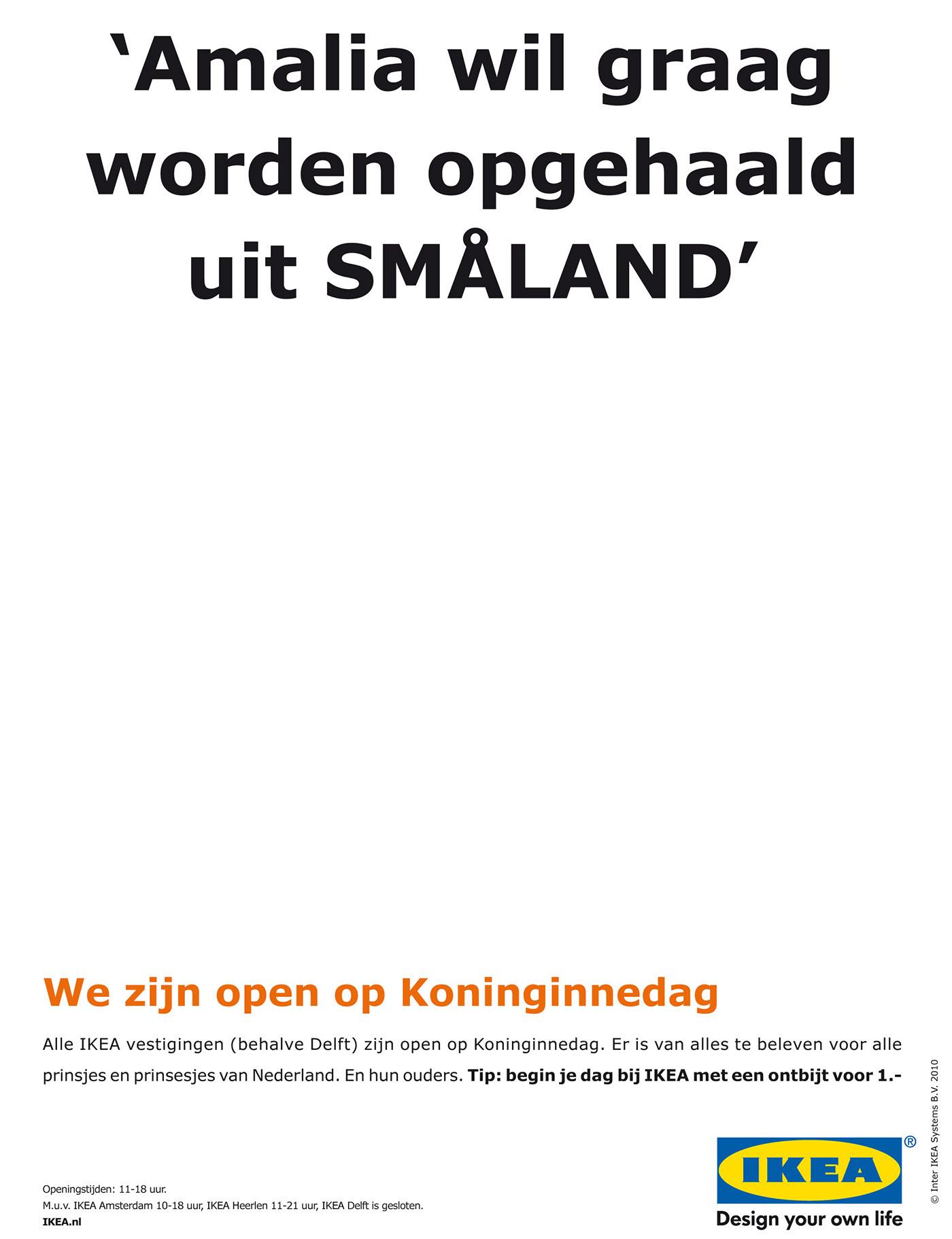 Ikea Newspaper Ads On Behance