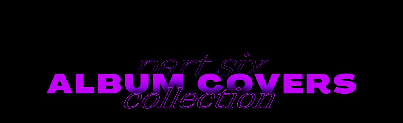 Album branding  collage cover coverart editorial music photoshop typography   vinyl