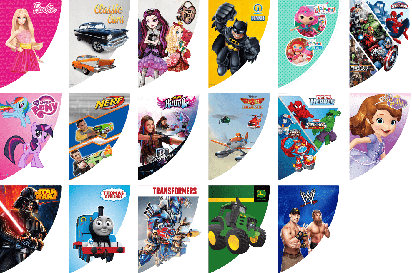store design merchandising toys Hot Wheels mattel disney graphic design  digital illustration