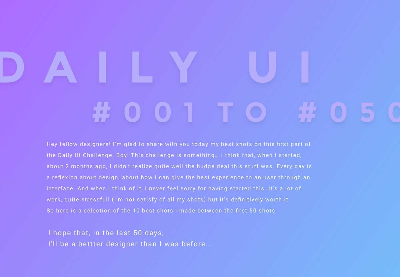 UI ux daily ui challenge Interface design summary Mobile app Webdesign interaction
