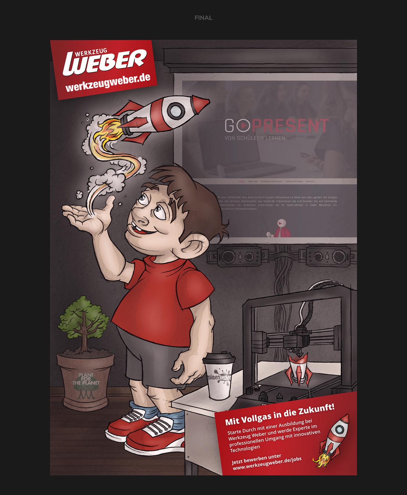 WERKZEUG WEBER // Illustration
