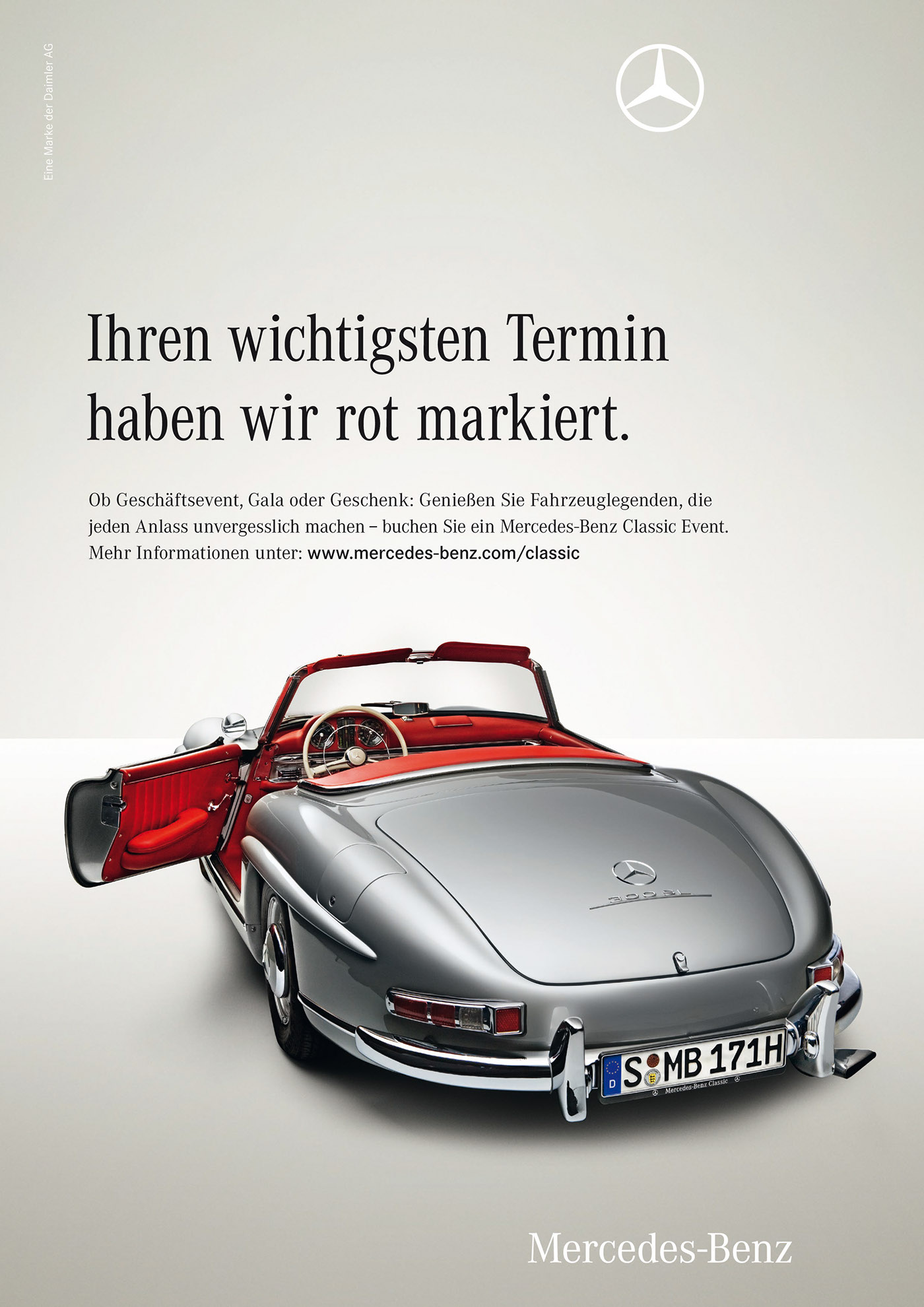 Mercedes benz classic on behance for Mercedes benz classic center germany