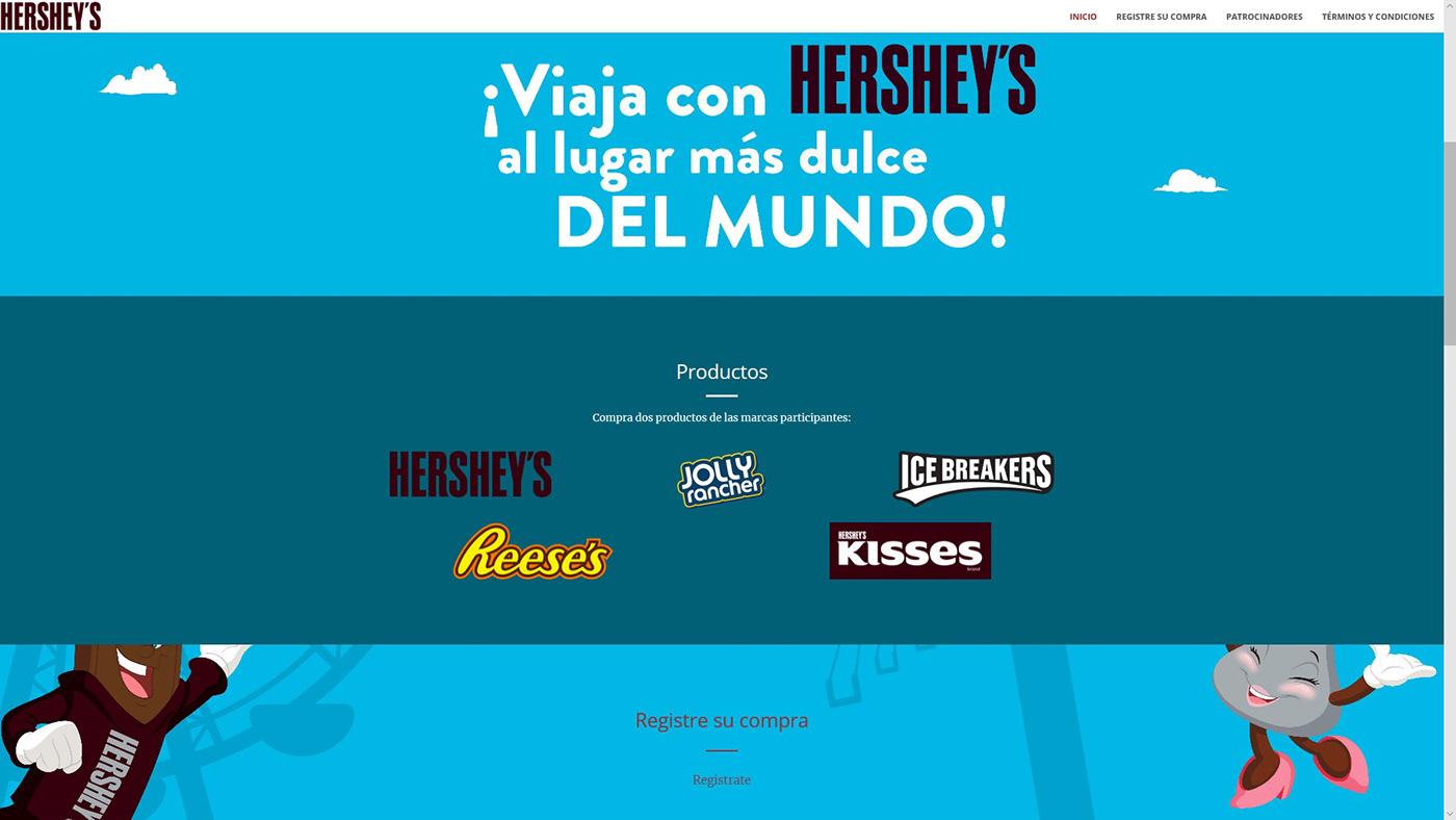 hersheys Web php HTML css
