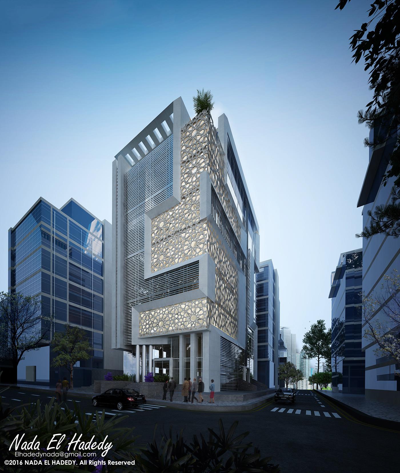 Modern islamic center on behance for Modern islamic building design