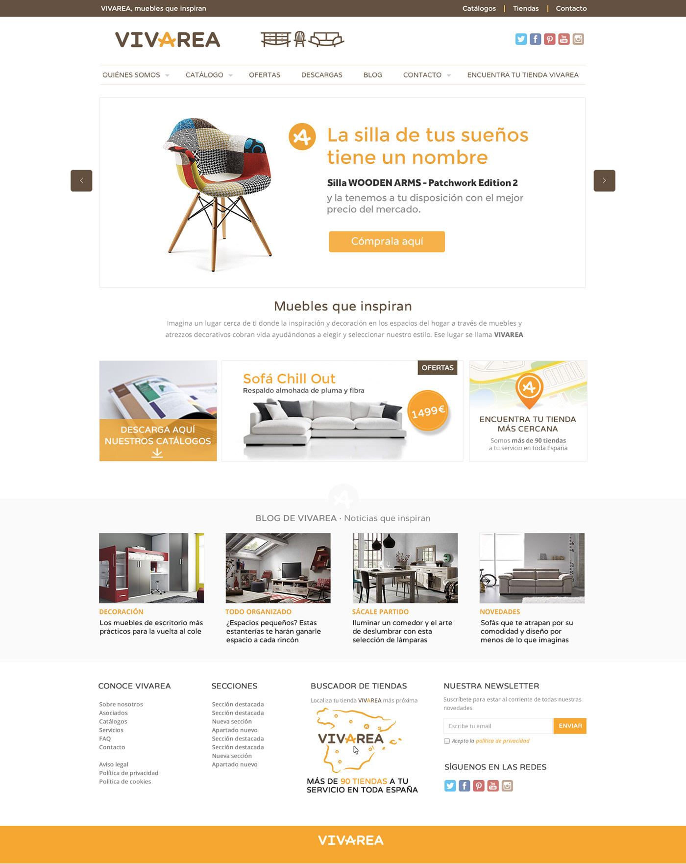Diseño web UX / UI web corporativa wordpress