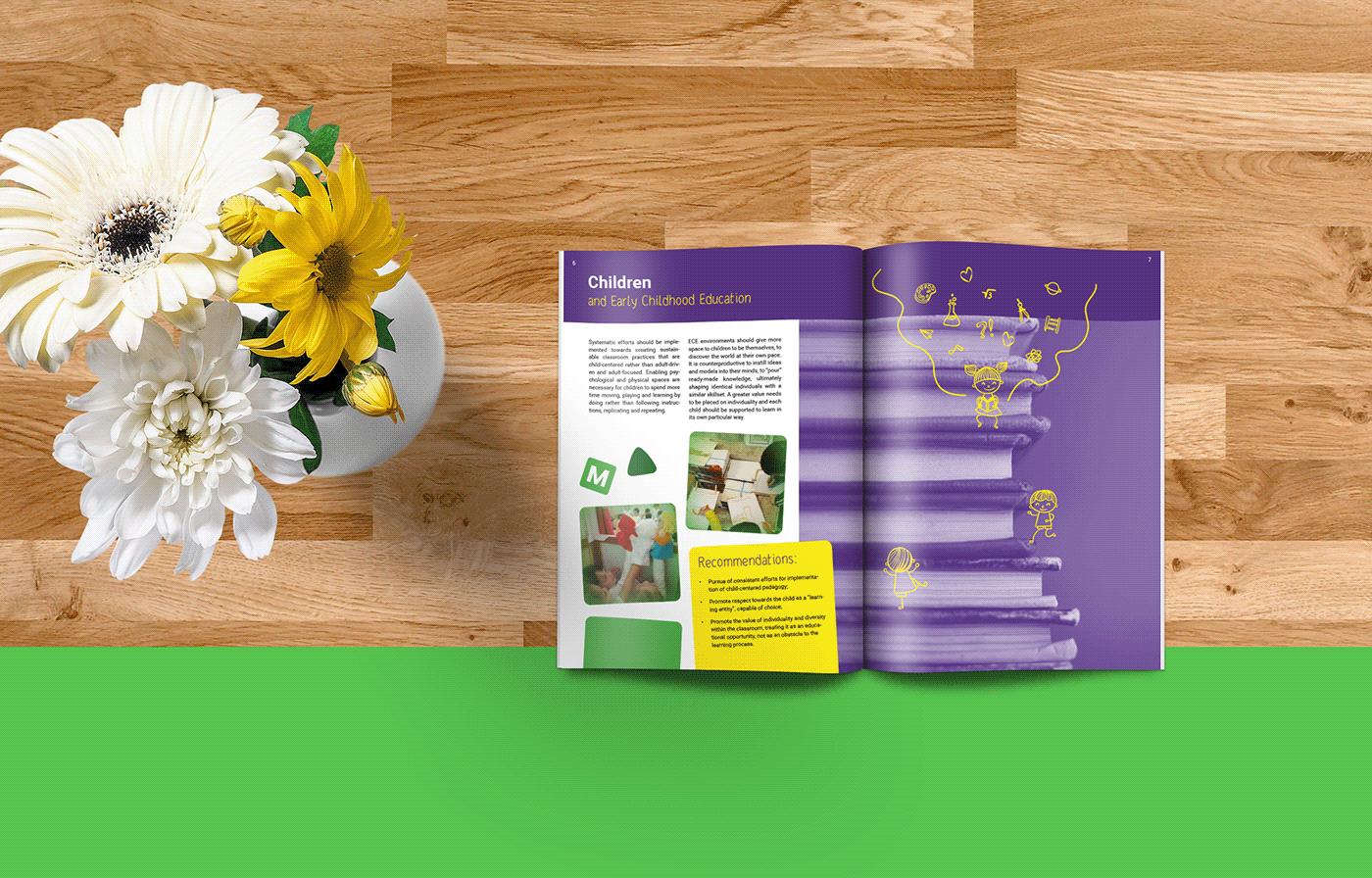 brochure graphic design  ILLUSTRATION  Layout