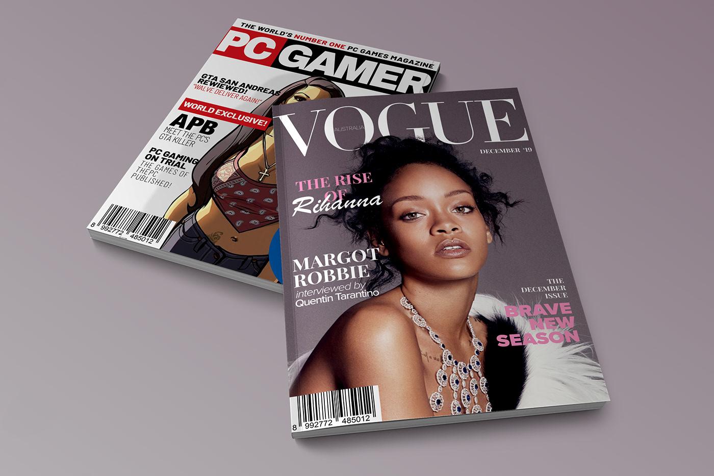 精美的22個時尚雜誌封面欣賞