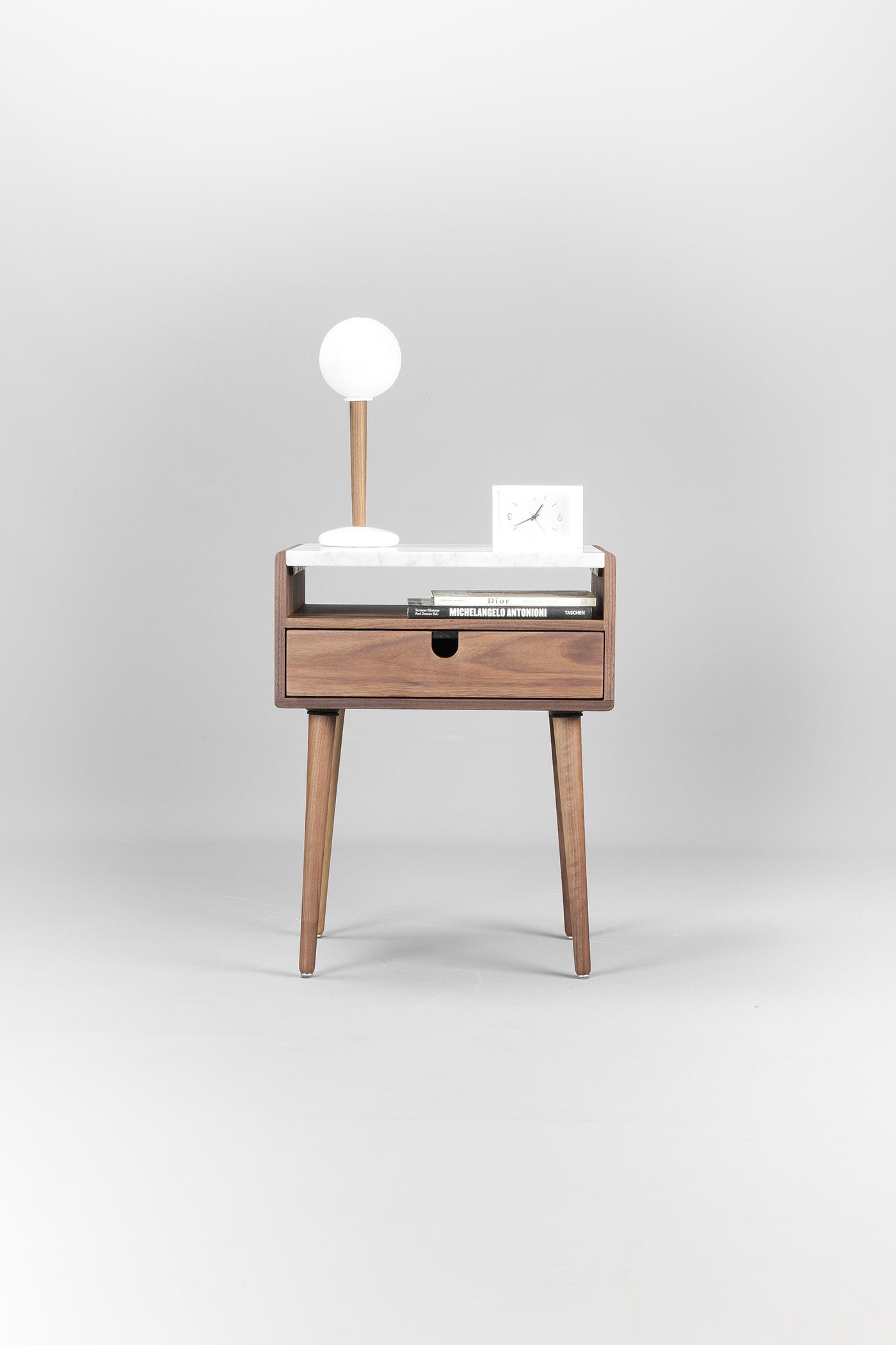 有創意感的21款床頭櫃設計欣賞