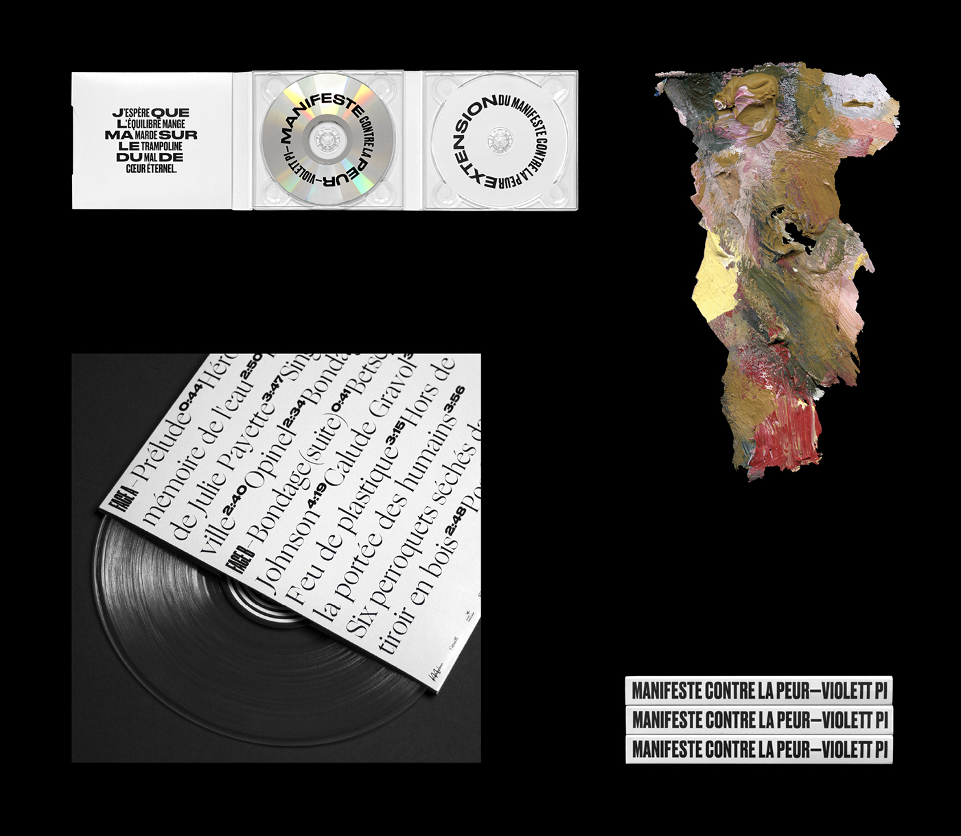 music,3D,typography  ,design,Records,painting