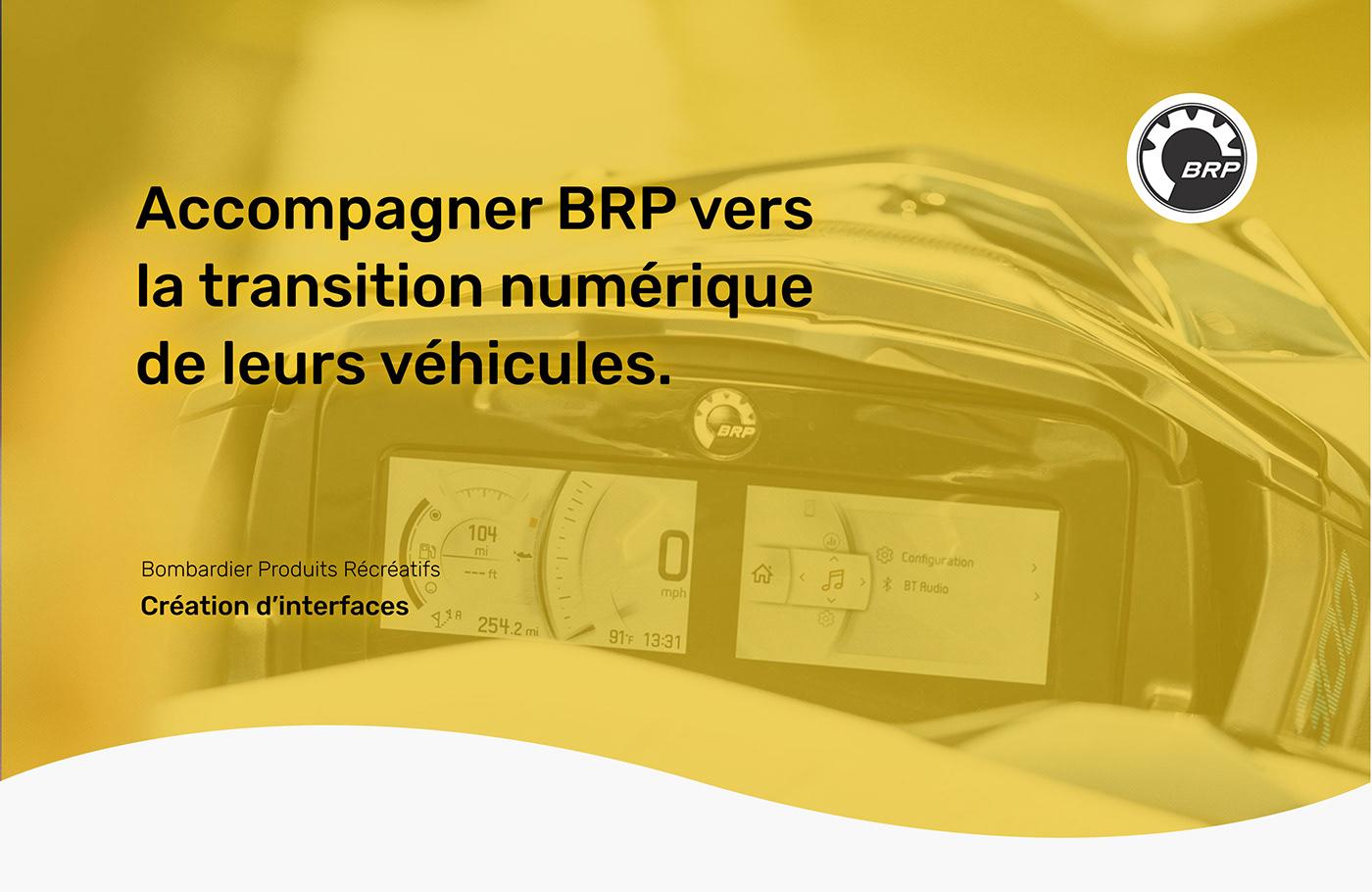 Accompagner BRP vers la transition numérique de leurs véhicules.