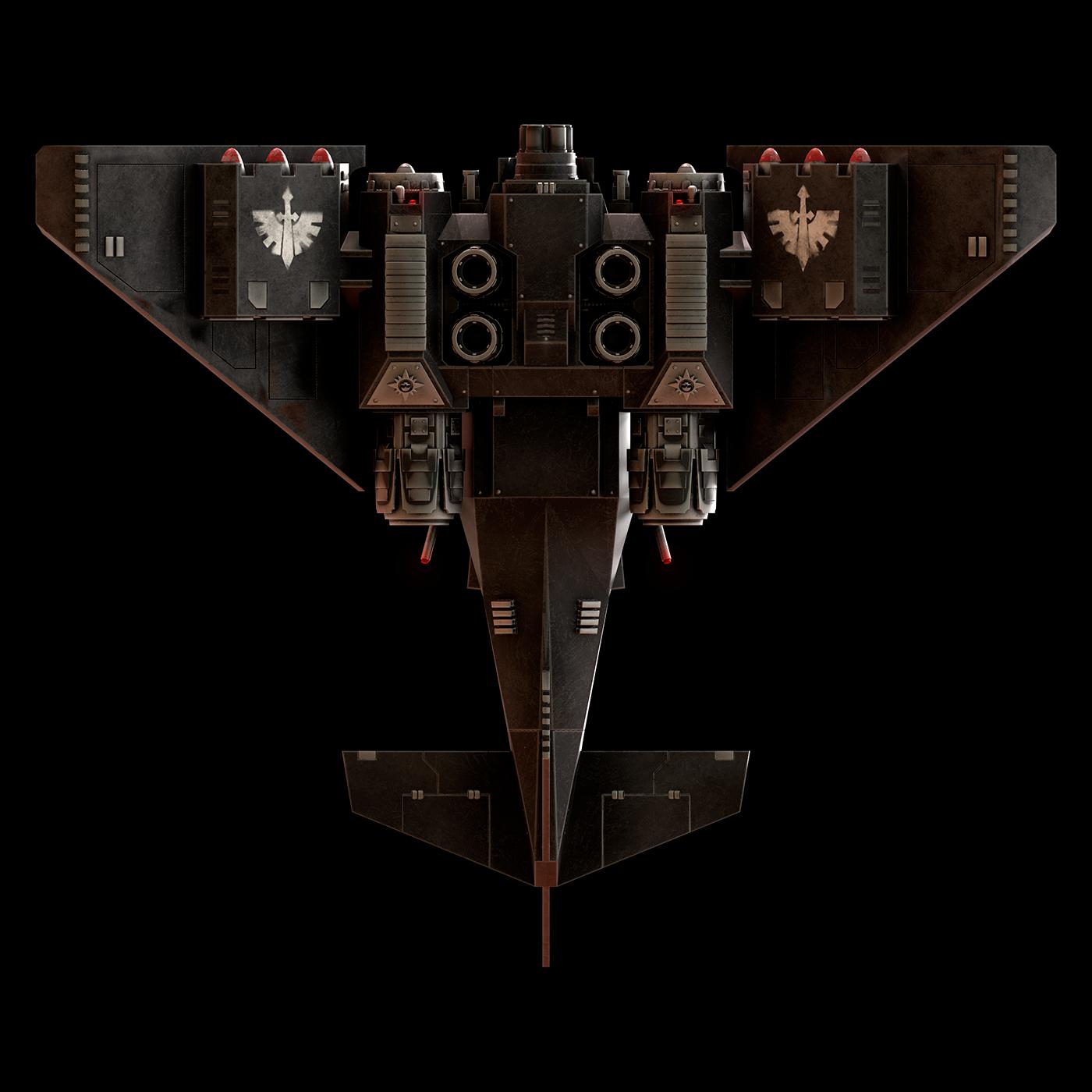 3D concept art Warhammer