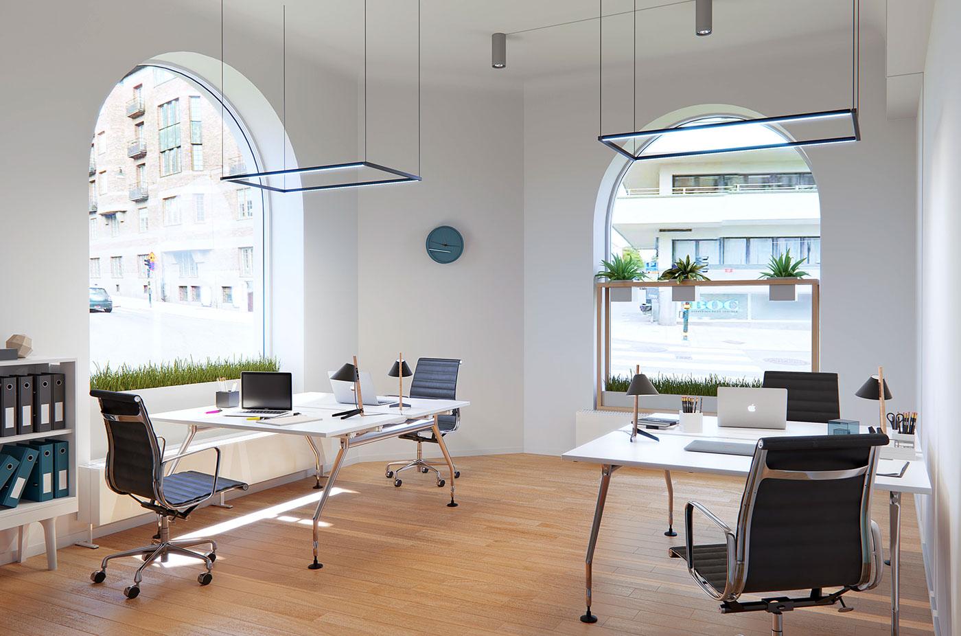 有獨特感的17款辦公桌設計欣賞