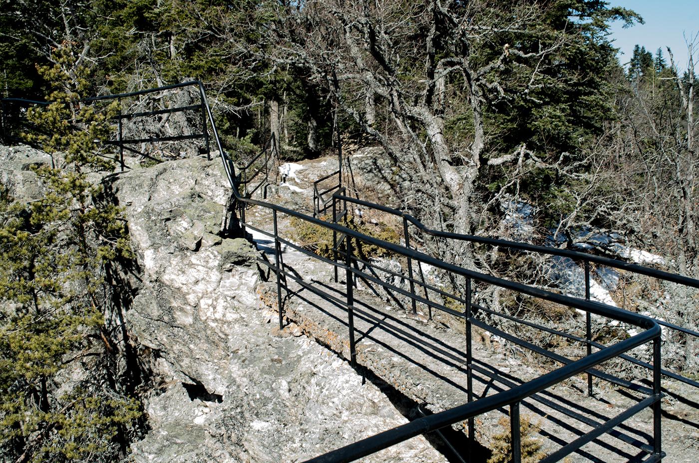 The Black Rock Path.