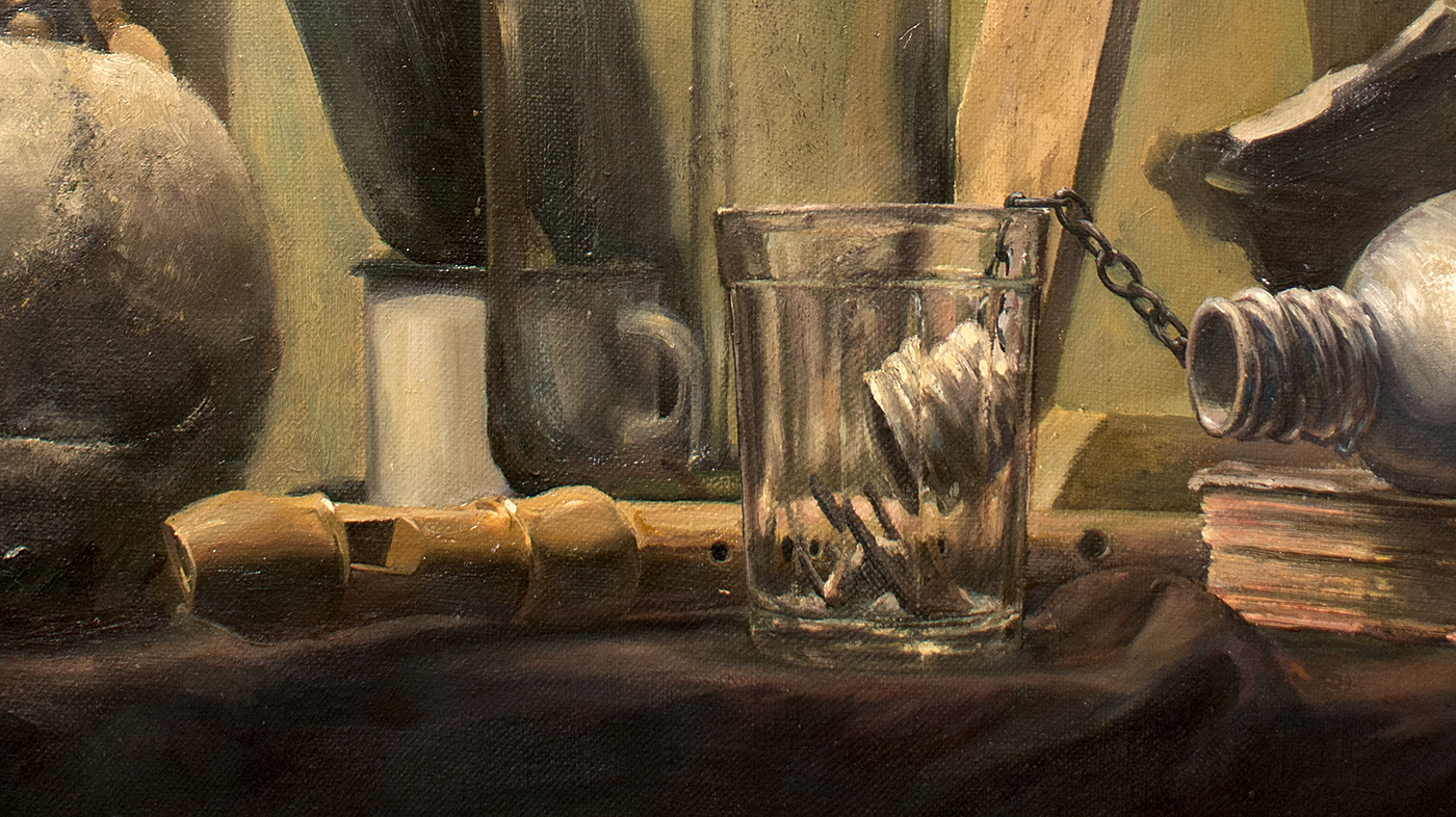 Realism oil on canvas