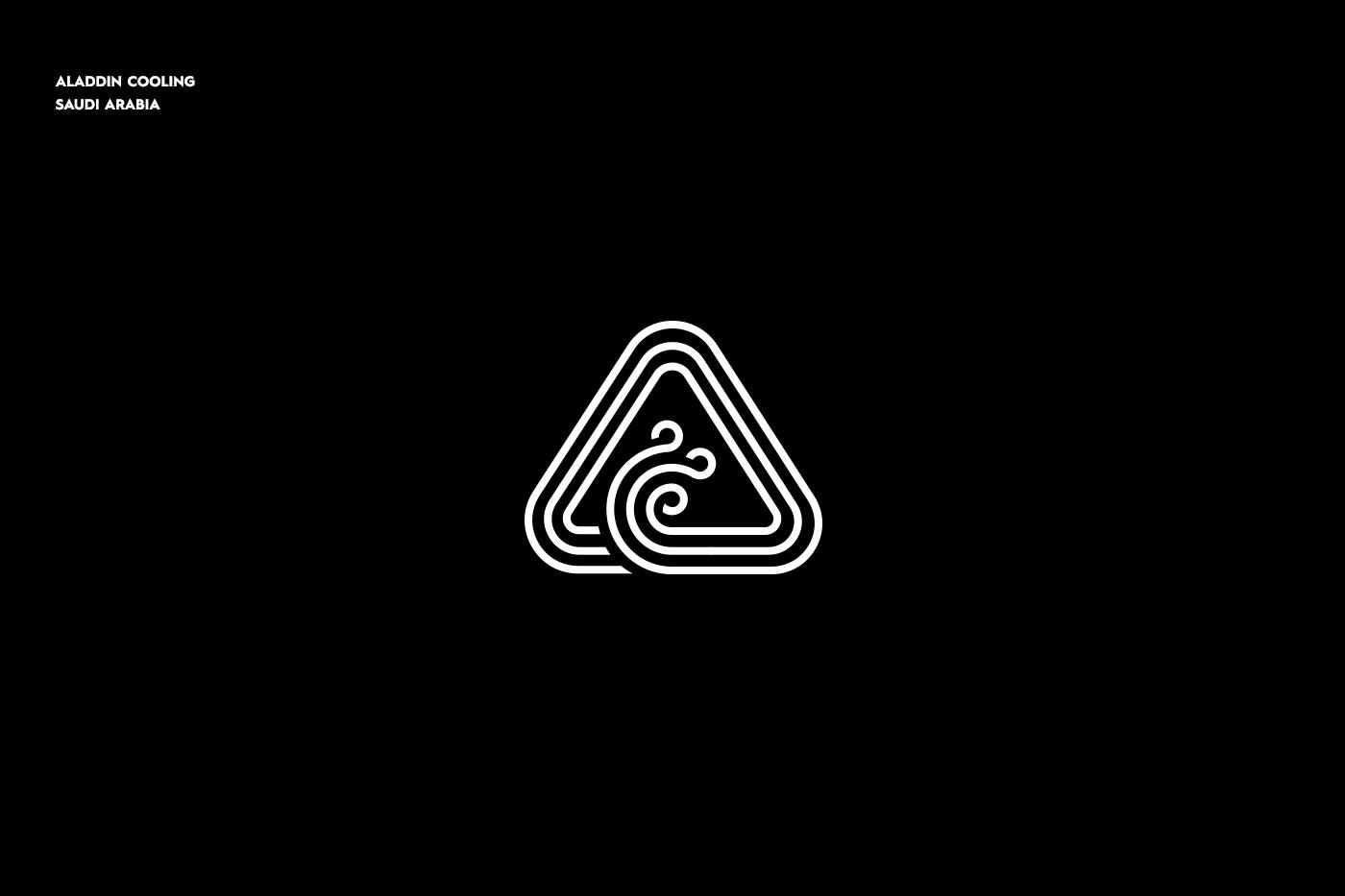 logo folio monogram mark simple minimal