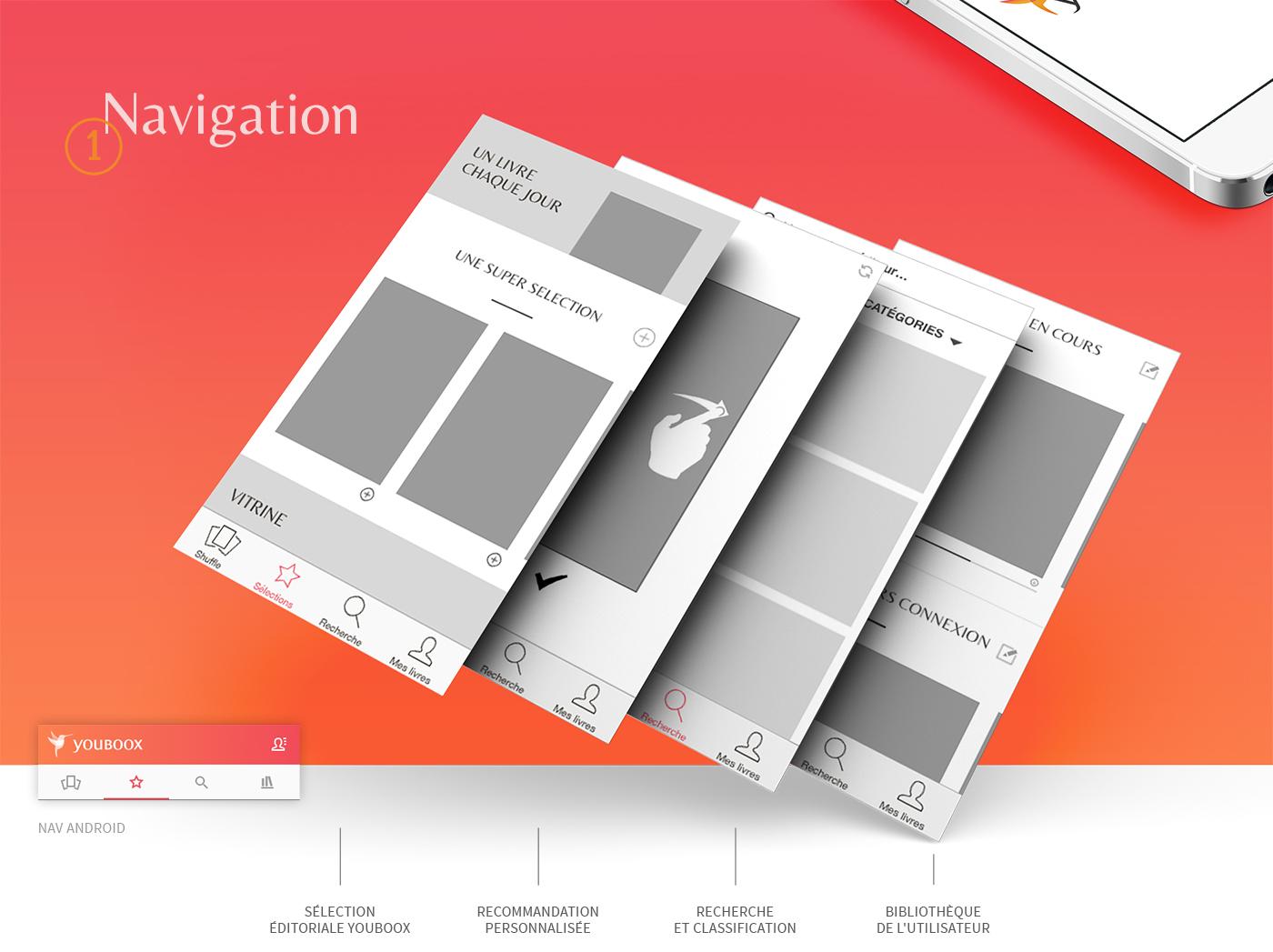 books redesign read app