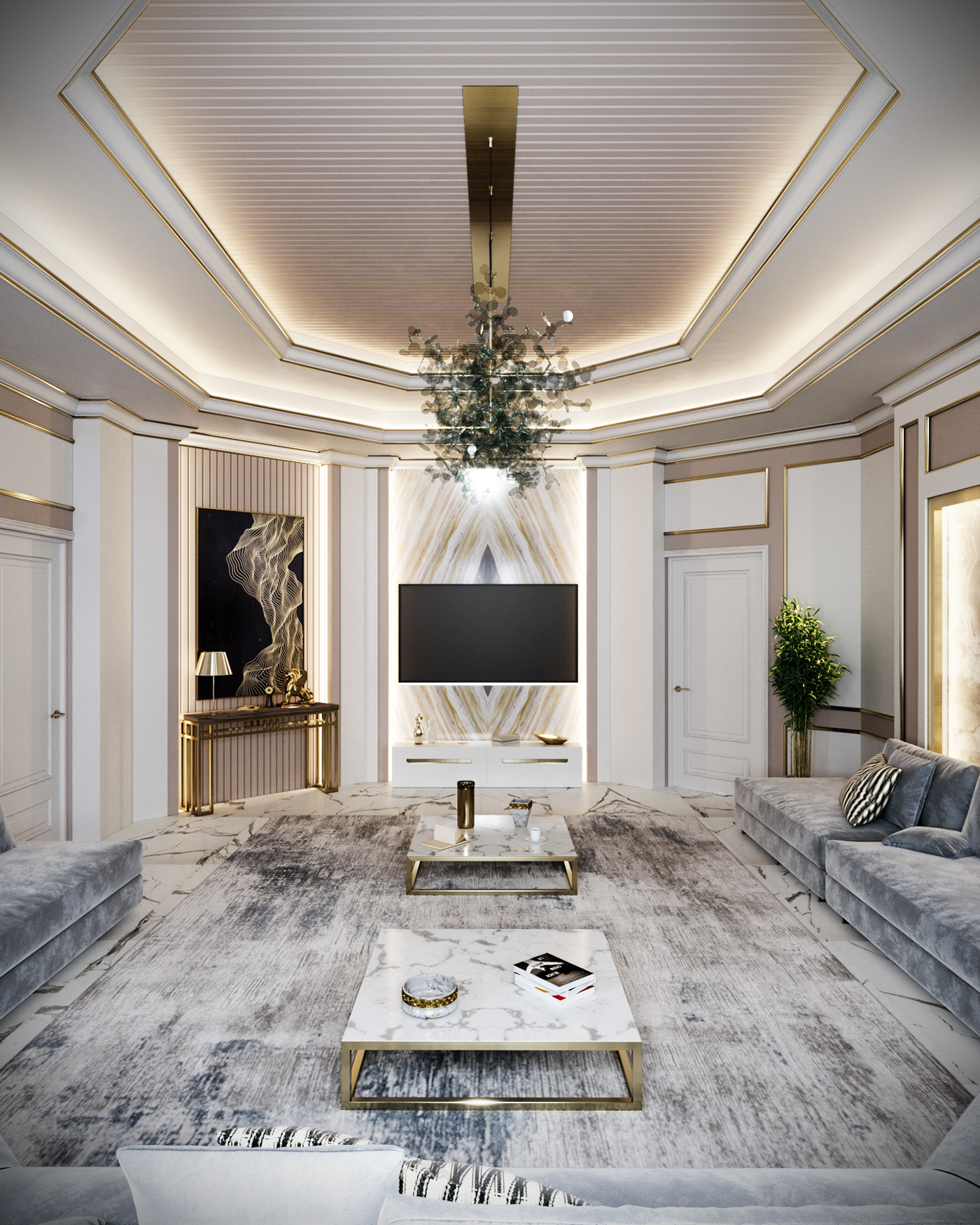 architecture CGart corona CoronaRender  guestroom Interior MAJLIS Render rendering