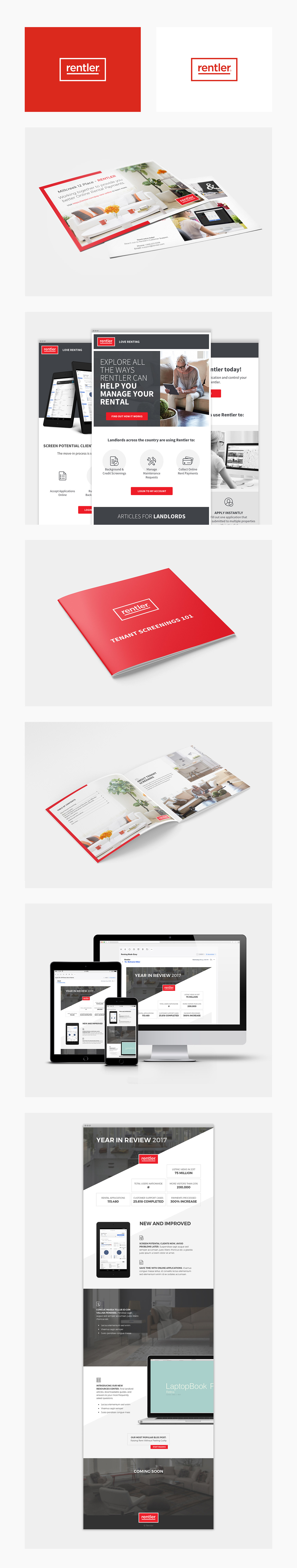 Email campaign Email Design flyers marketing   Booklet print design
