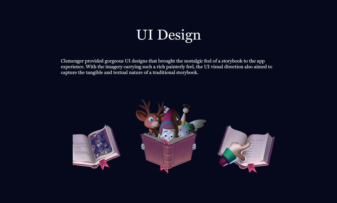 Christmas elf reindeer angel mouse story storybook interactive kids book
