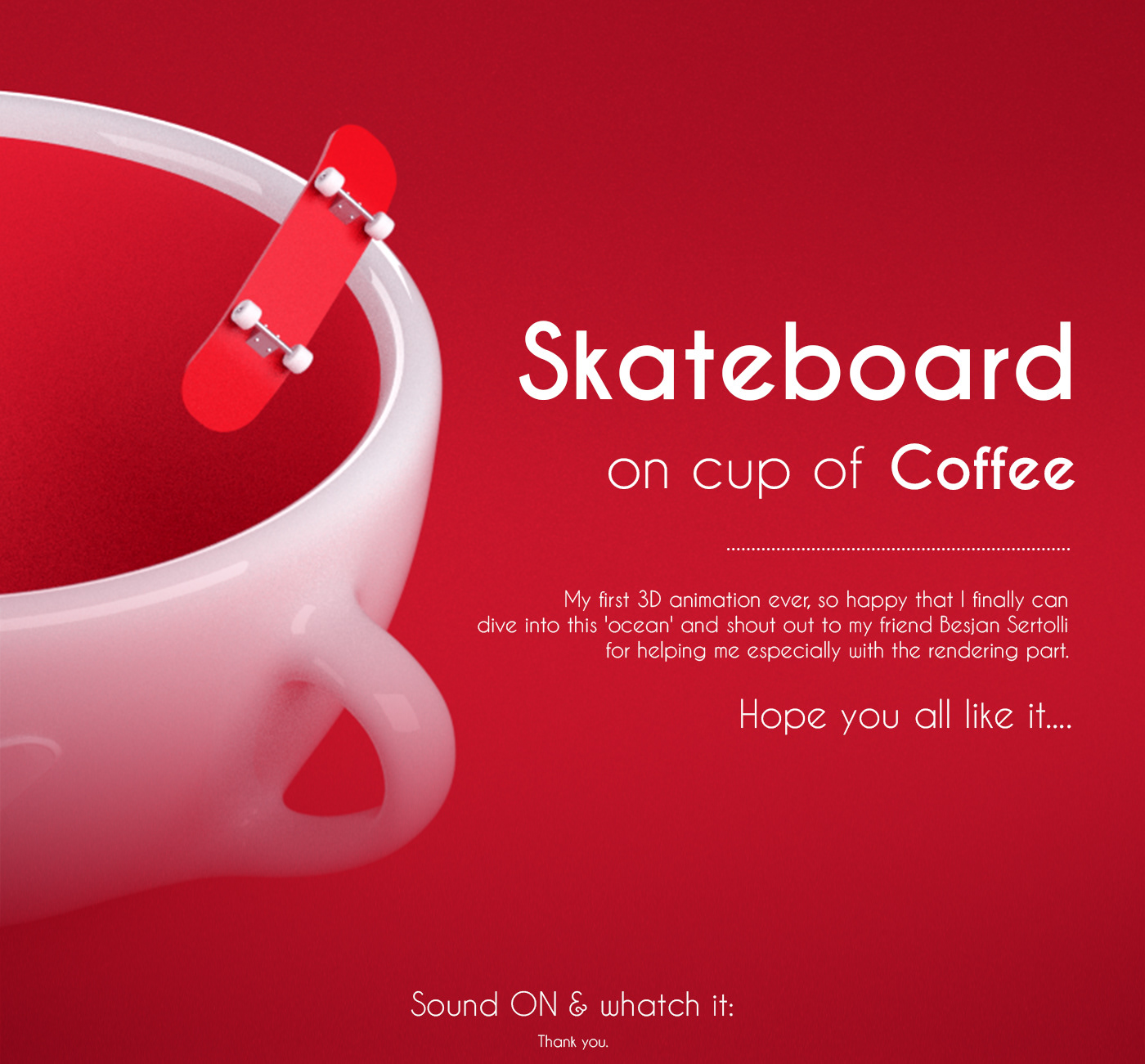 motion graphic cinema4d redshift3d looping loopvideo skateboard creative creativedesign creativeidea
