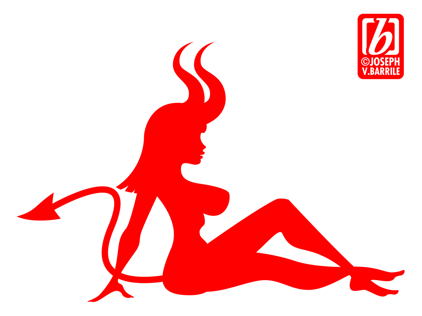 Character Design Jobs Nyc : Mud flap devil girl on behance