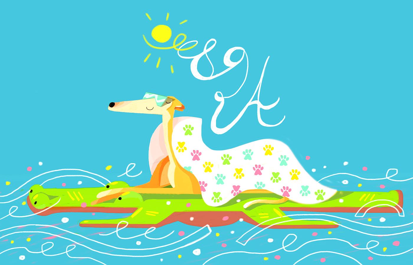 comission digitalart dog ILLUSTRATION