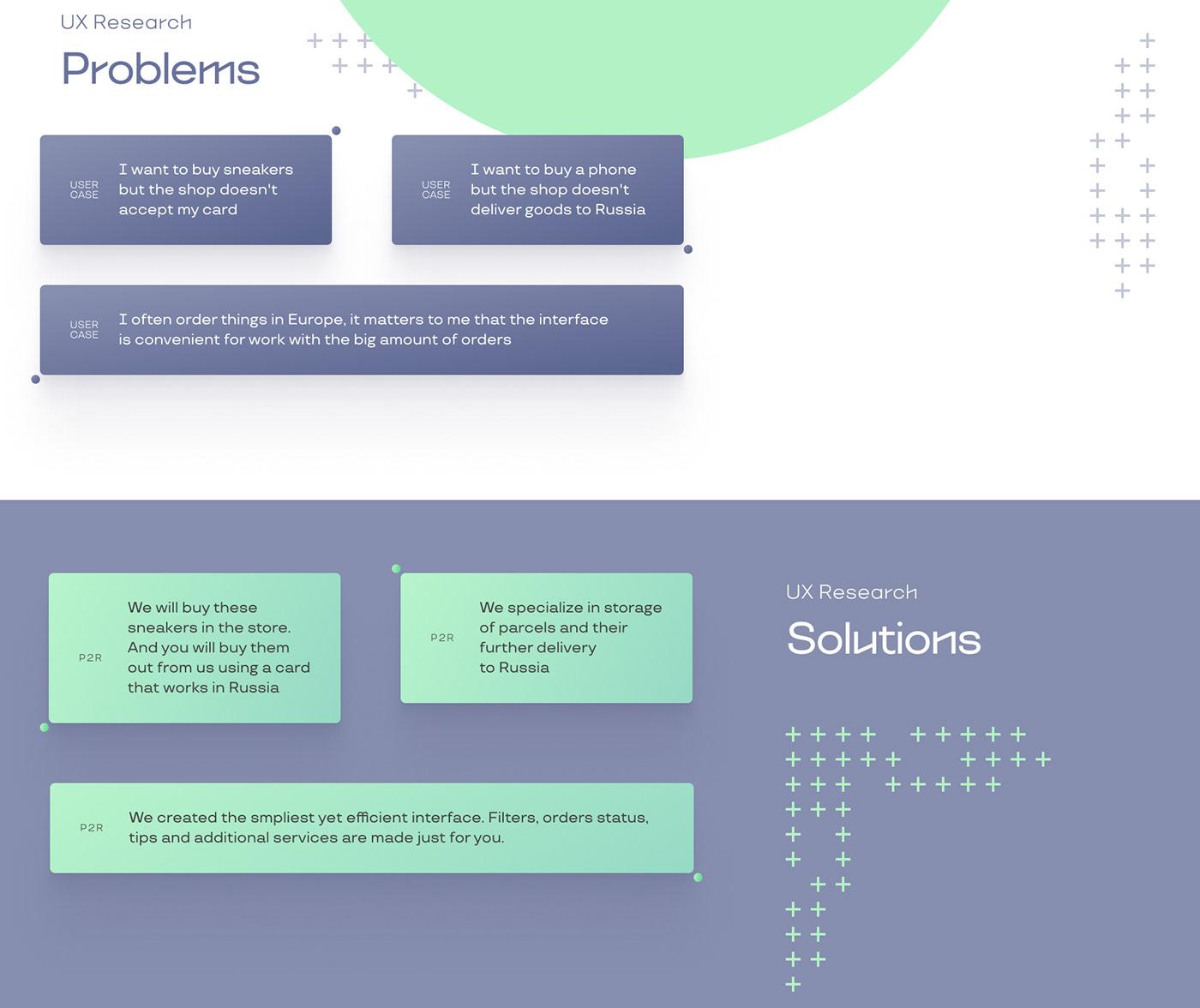 delivery design service UI ux дизайн доставка  сервис Startup сервисы