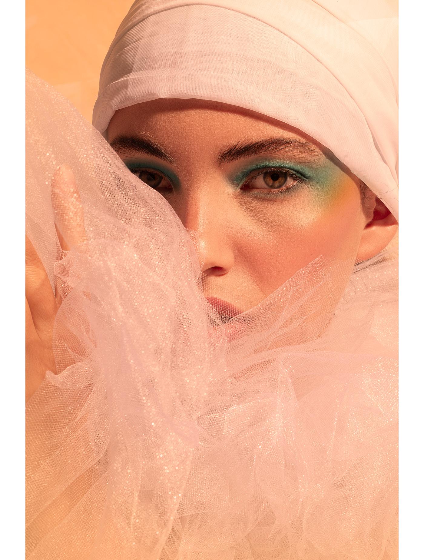 art direction  ArtDirection editorial ESBOF Fashion  Photography  Pierrot portrait retrato