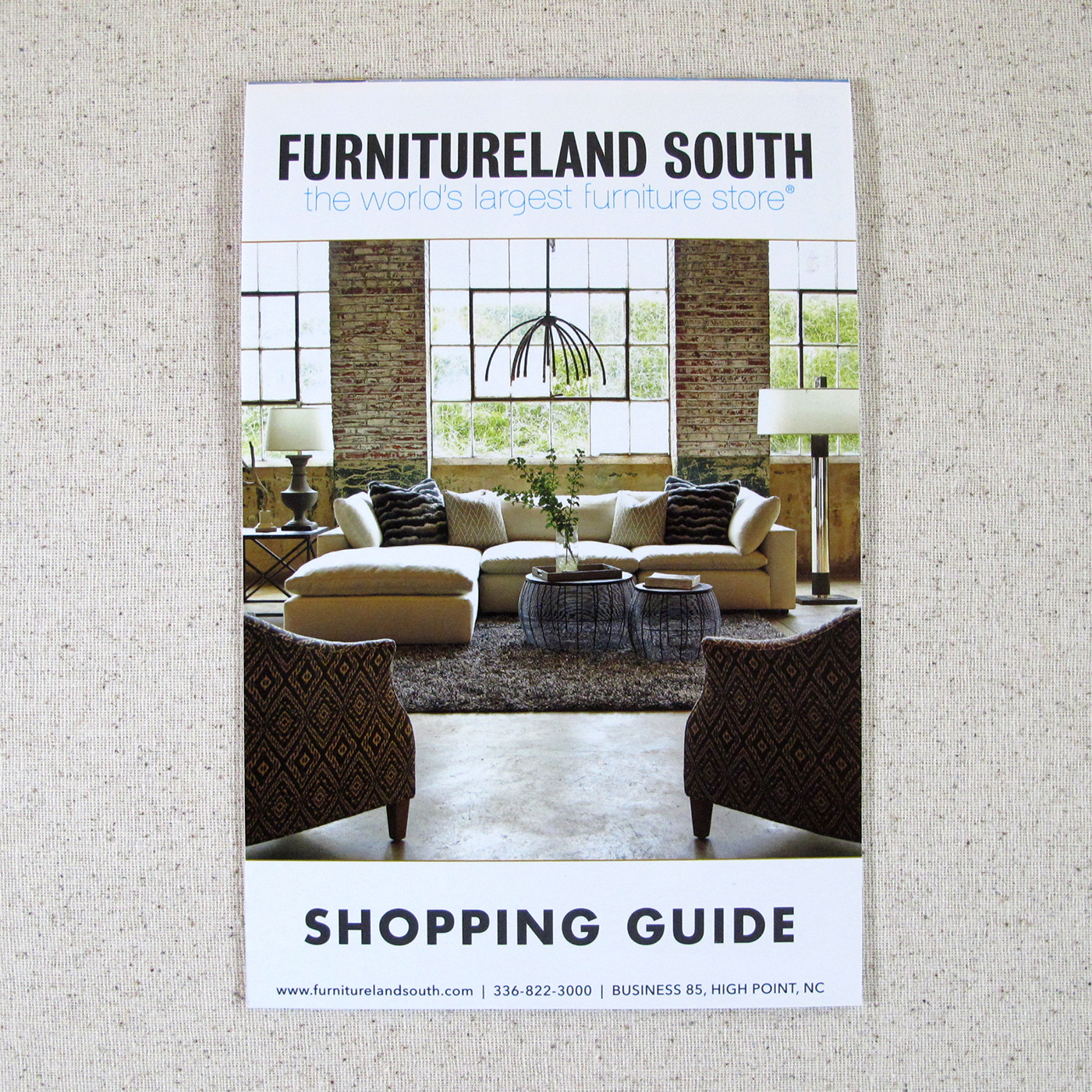 Furnitureland South Shopping Guide On Behance