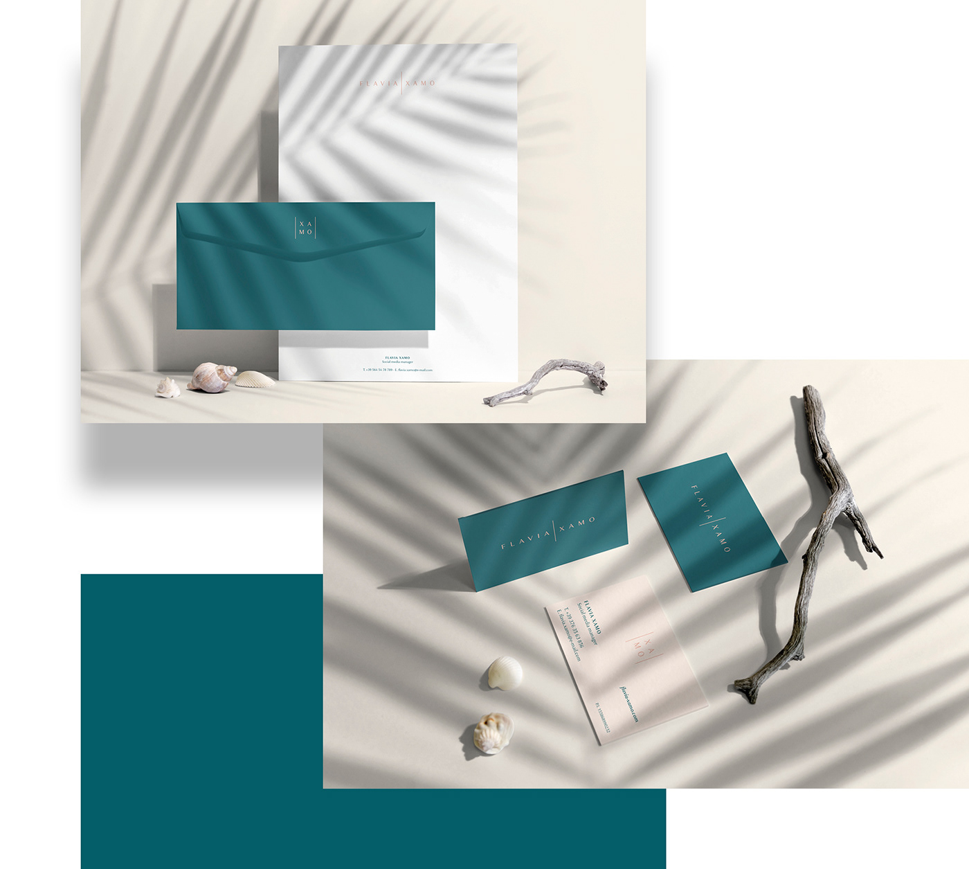 branding  logo mark color palette Stationery Set Business Cards concept visual concept color-palette modboard