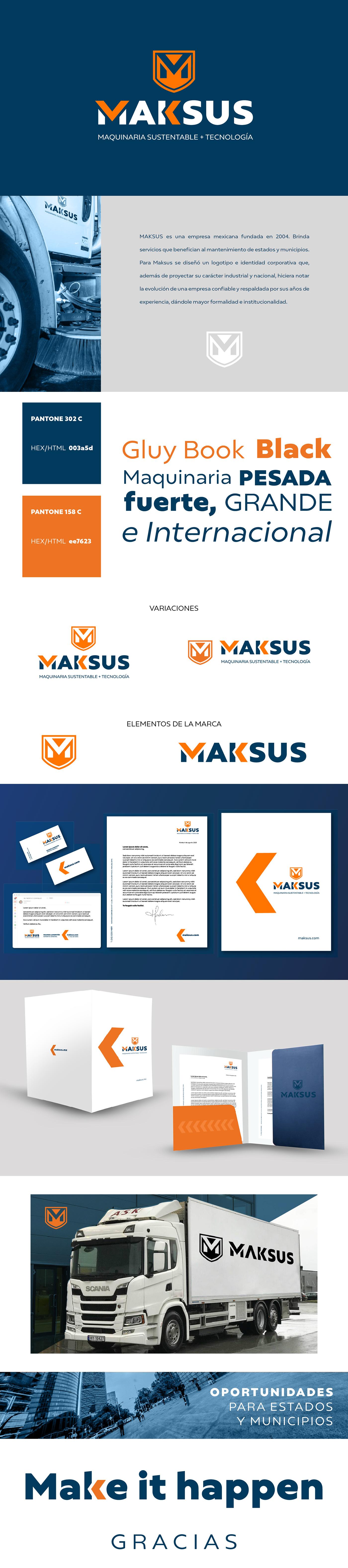 brand identity branding  machines Technology