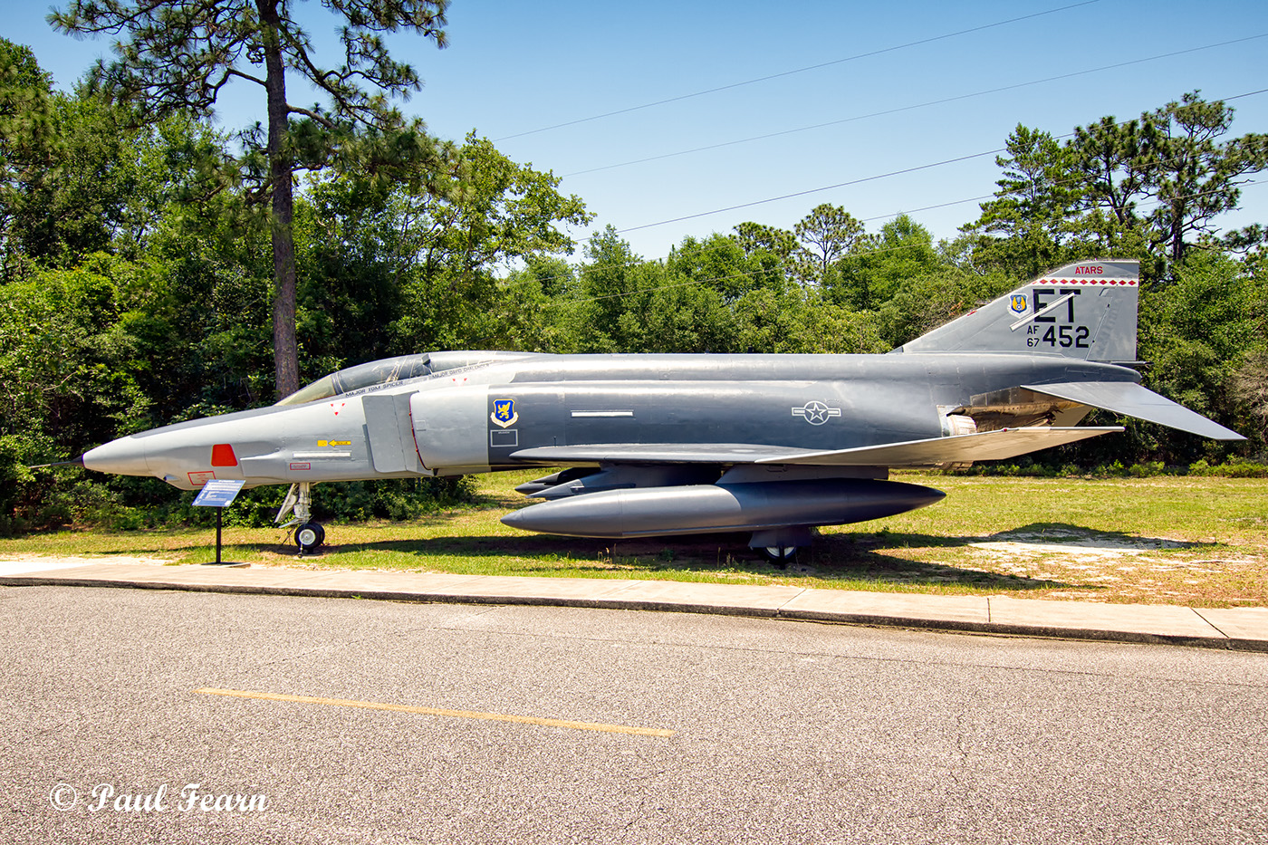 air force armament museum eglin air force base on behance mcdonnell rf 4c 32 mc phantom ii 67 0452 last assigned to the 3246th test wing armament development test center eglin afb in the markings it carried