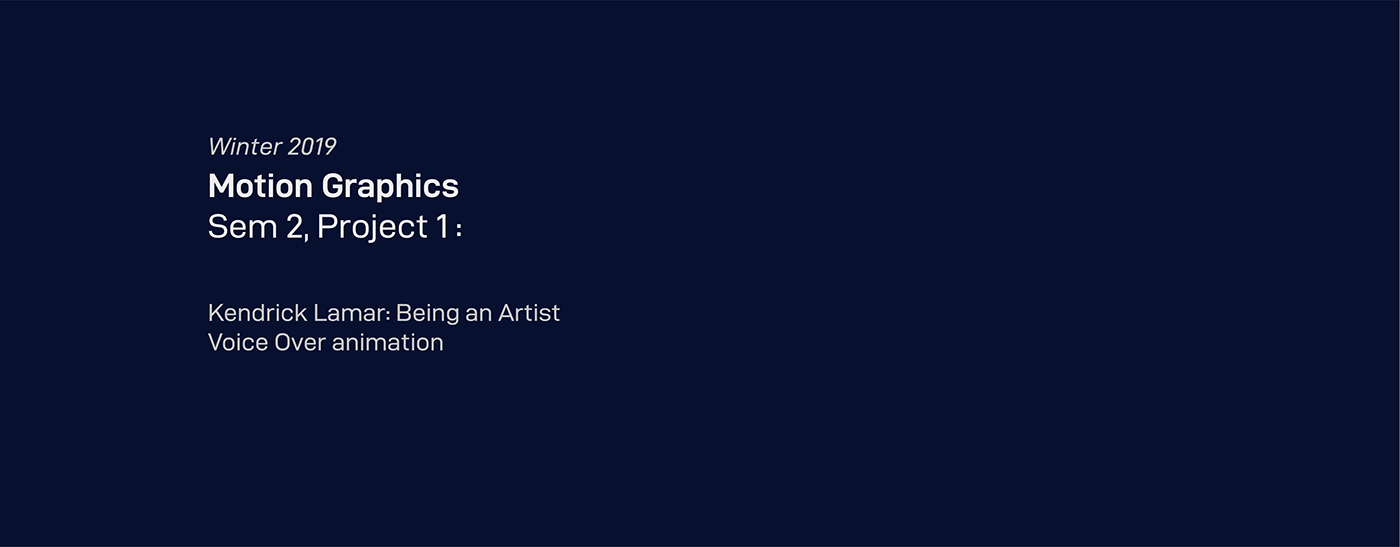 kendrick lamar animation  rap hiphop motivational Voice Over tde speech music Records