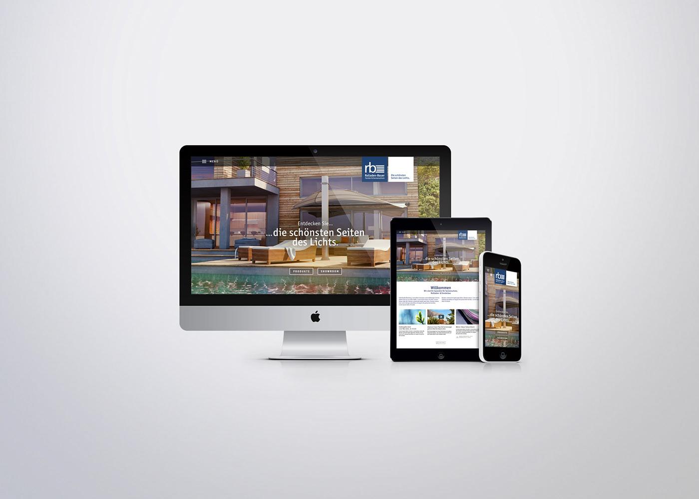 Responsive Screendesign Webdesign